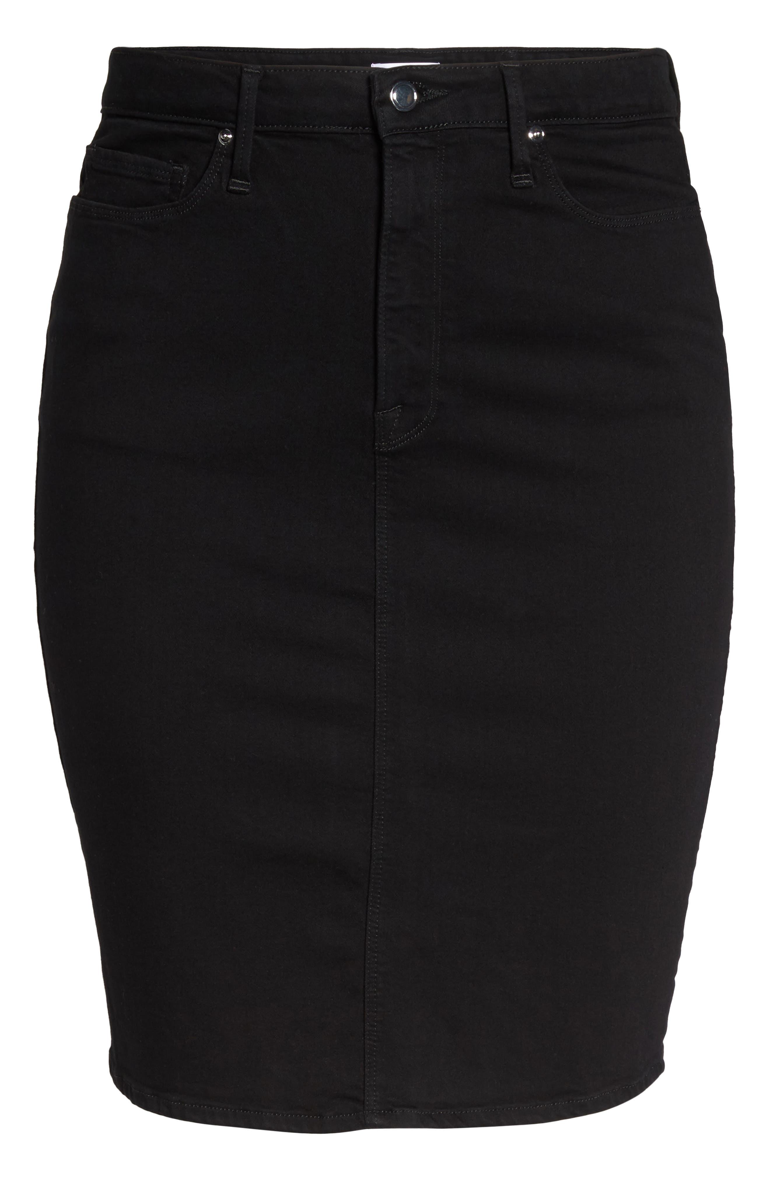 The Pencil Skirt,                             Alternate thumbnail 6, color,                             001