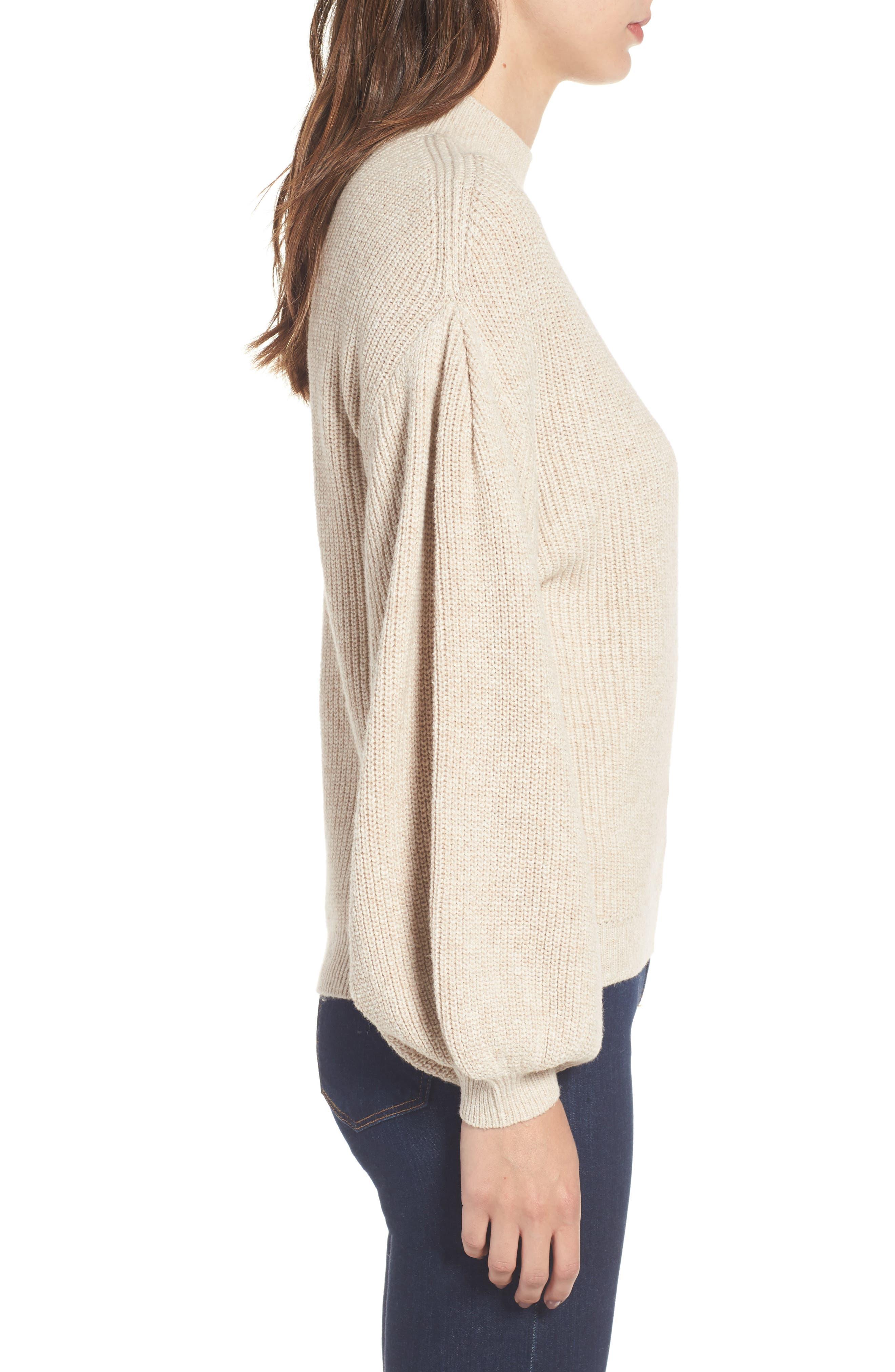 Blouson Sleeve Sweater,                             Alternate thumbnail 13, color,