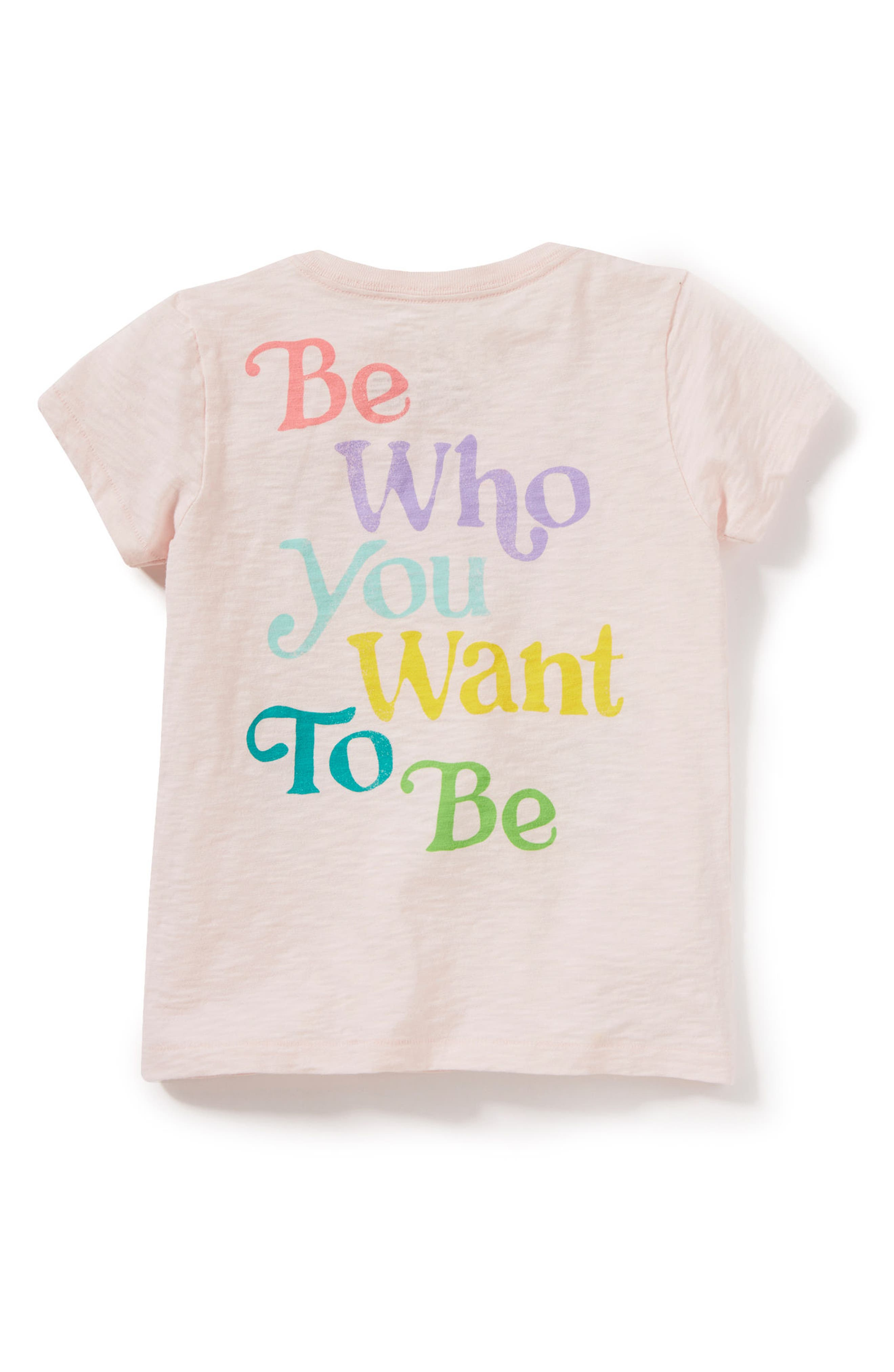 Be Who You Want Tee,                             Alternate thumbnail 2, color,