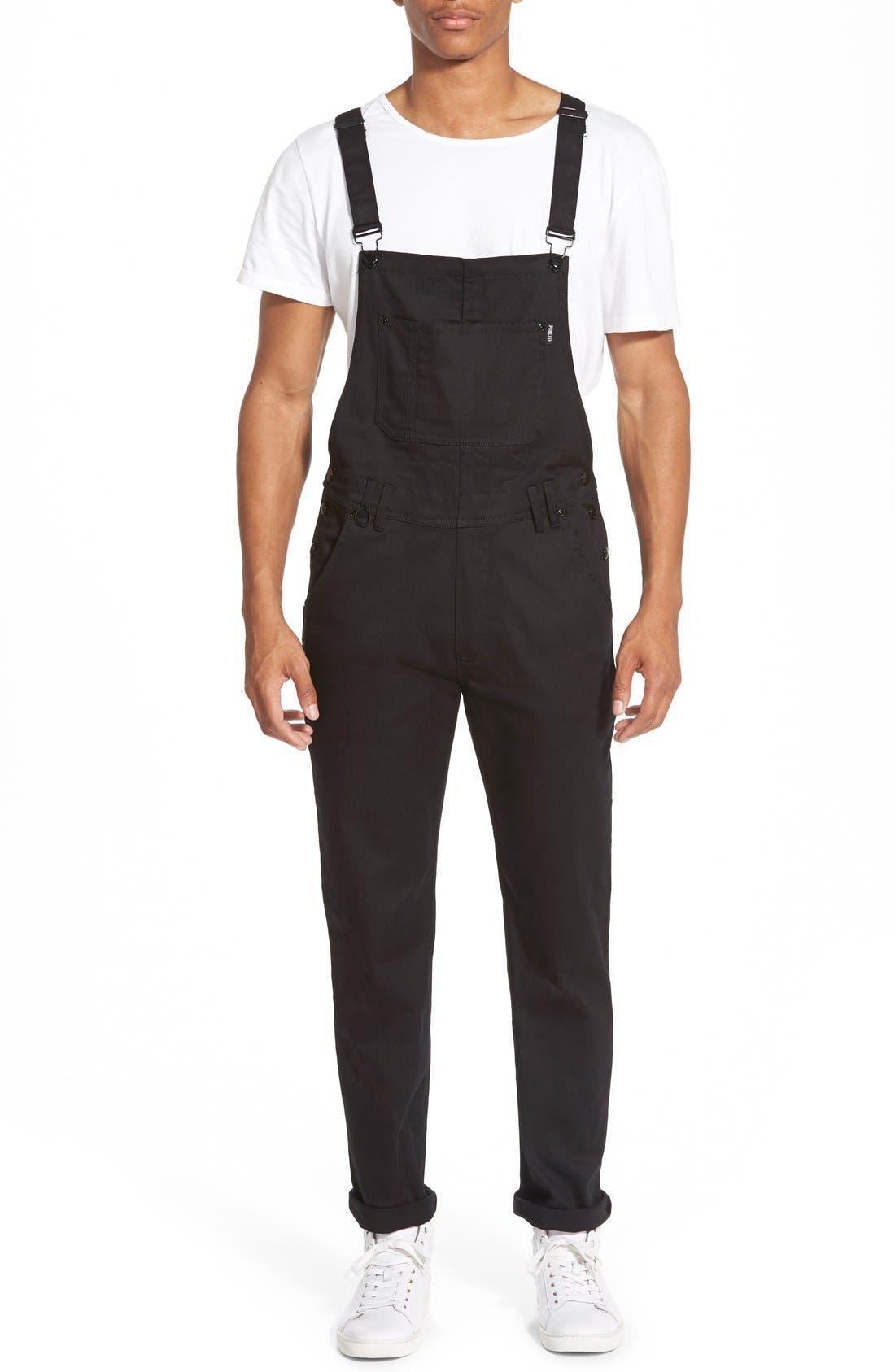 'Sawyer' Overall Pants, Main, color, 001