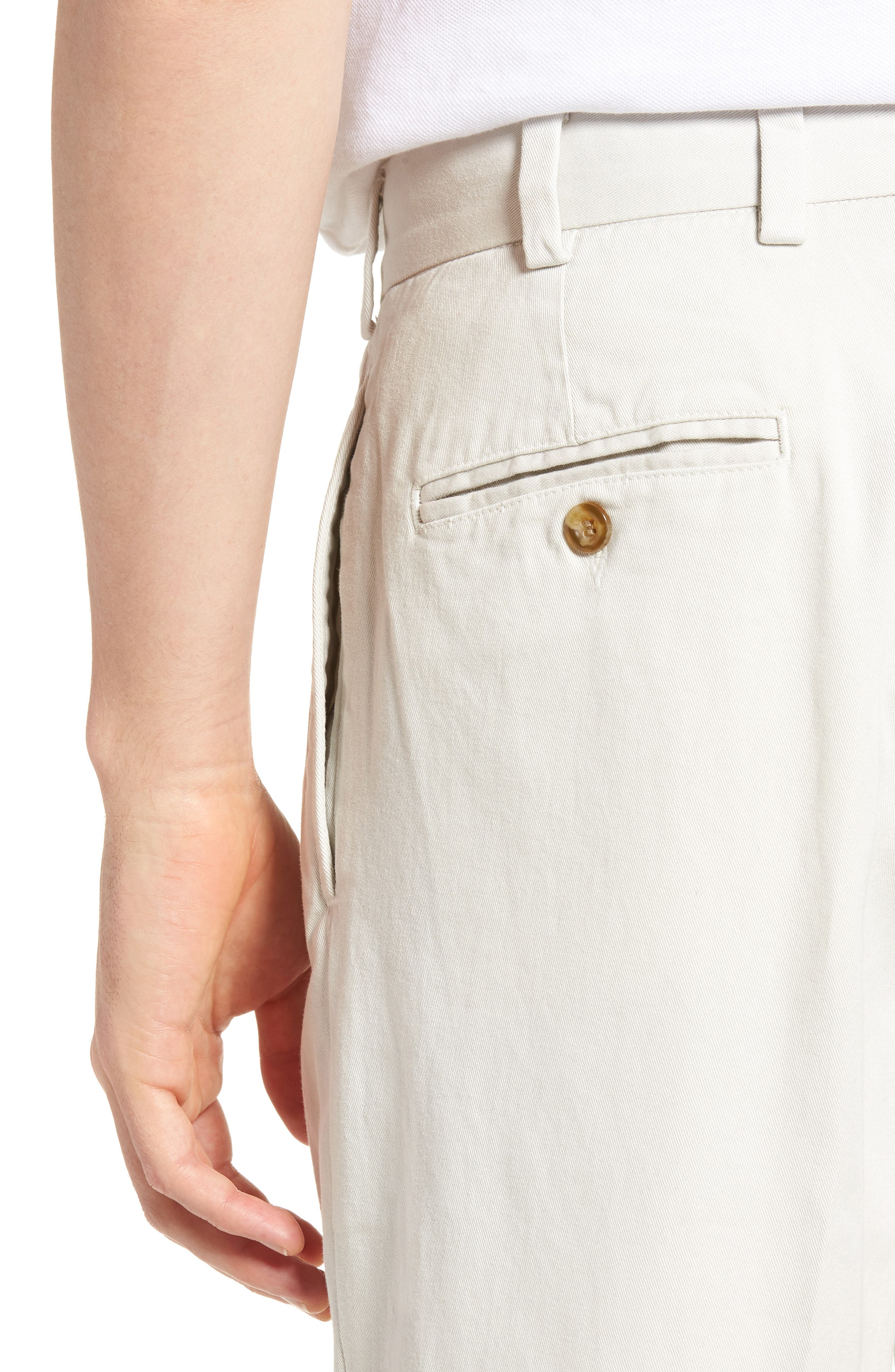 M2 Classic Fit Vintage Twill Pleated Pants,                             Alternate thumbnail 4, color,                             270