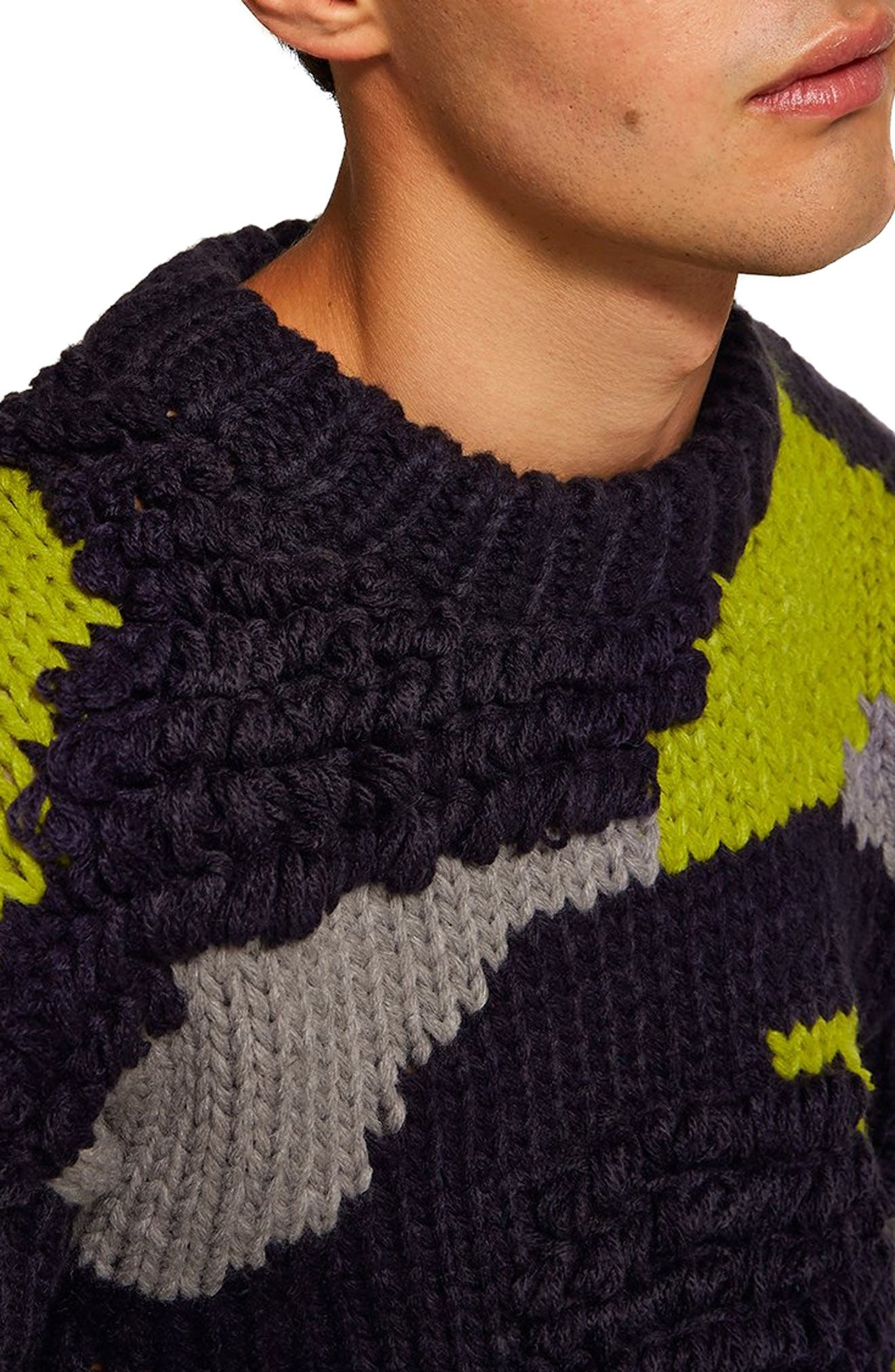 Classic Fit Sweater,                             Alternate thumbnail 4, color,                             020
