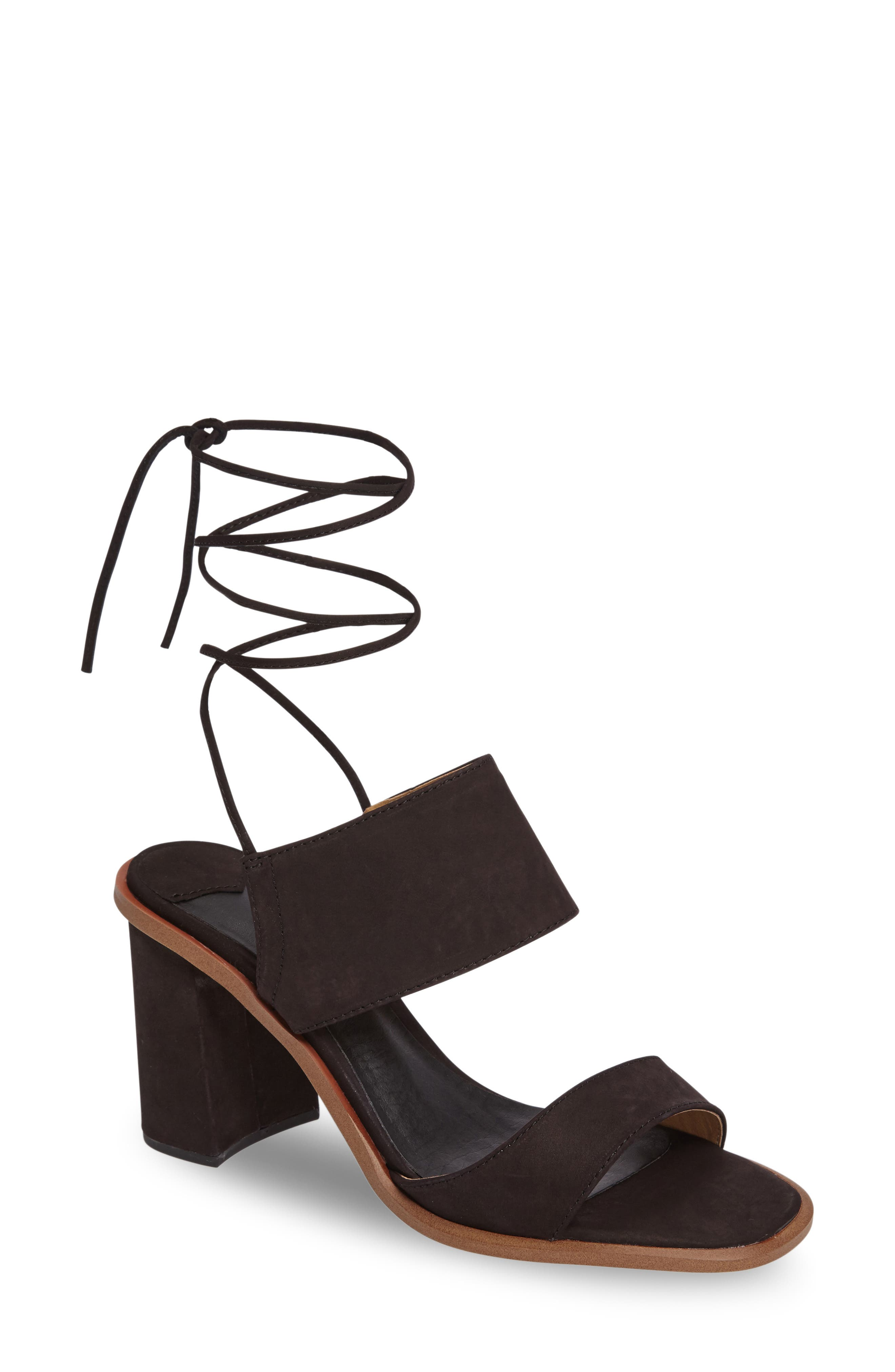 Cuoco Ankle Strap Sandal,                             Main thumbnail 1, color,                             001