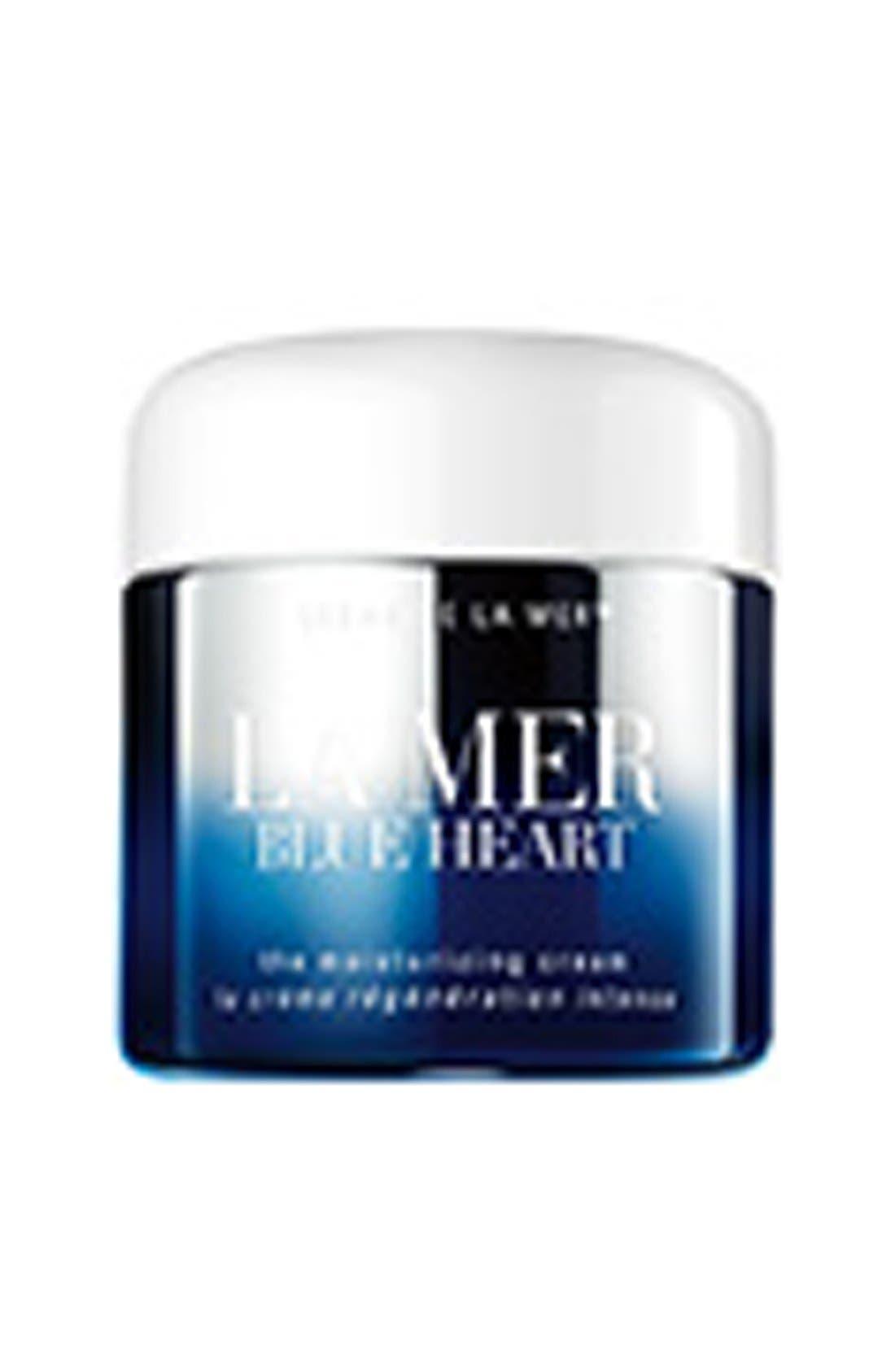 LA MER,                             Crème de La Mer 'Blue Heart' Moisturizing Cream,                             Alternate thumbnail 2, color,                             000