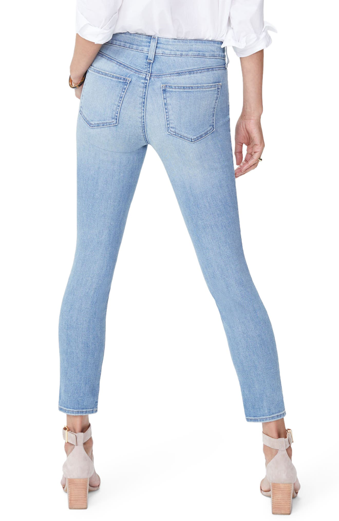 Alina Stretch Skinny Jeans,                             Alternate thumbnail 2, color,                             418