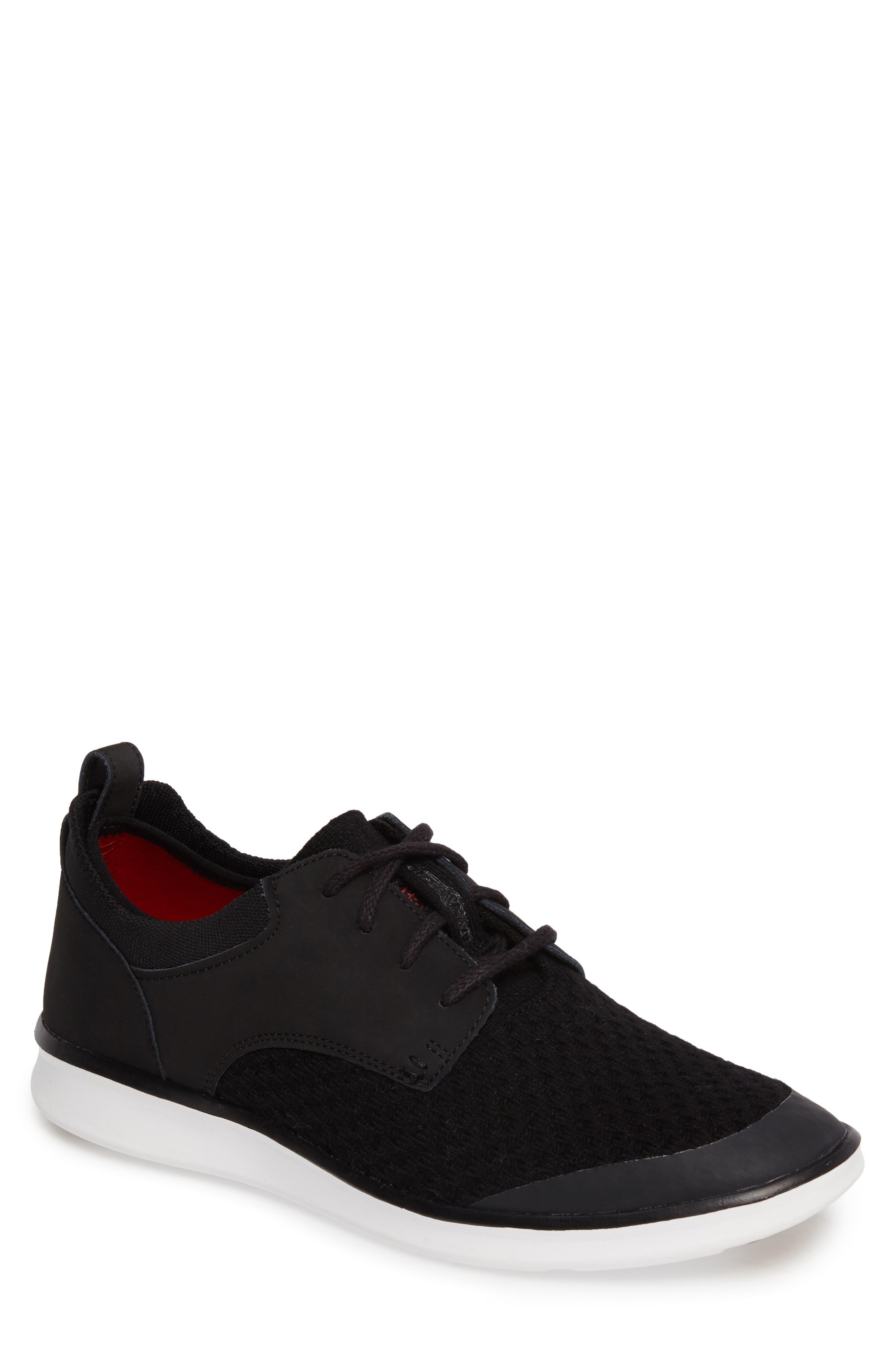 Hepner HyperWeave Sneaker,                             Main thumbnail 1, color,                             001