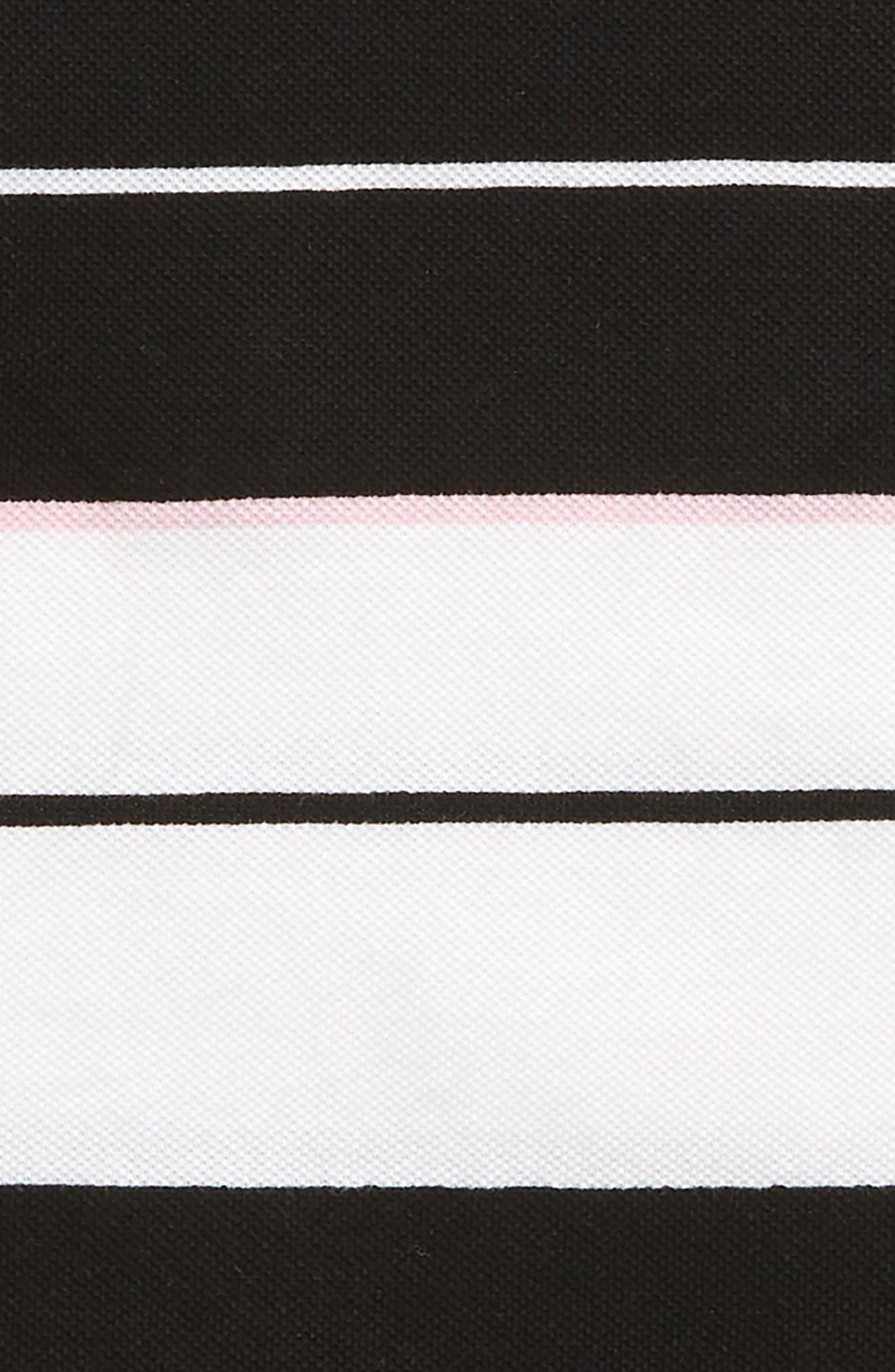 Stripe Piqué Tee,                             Alternate thumbnail 2, color,                             100