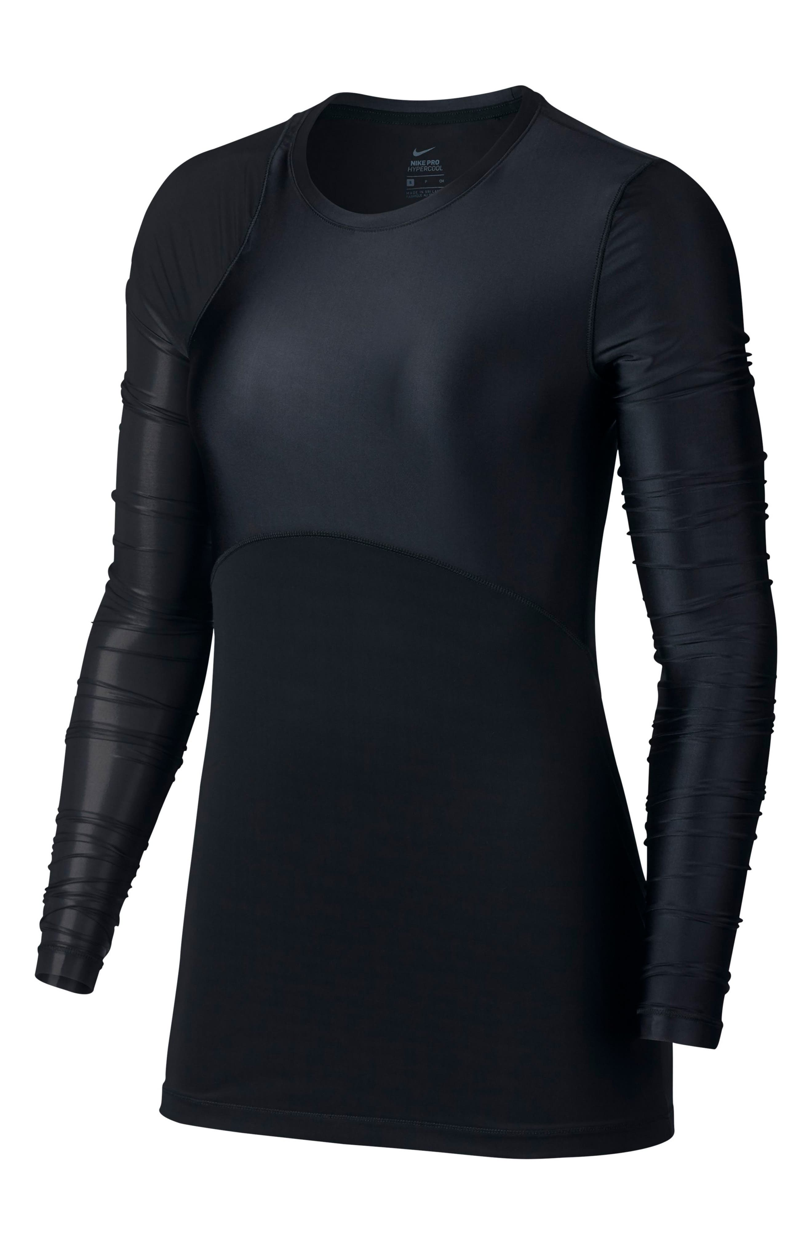Pro HyperCool Glamour Tee,                         Main,                         color, 010