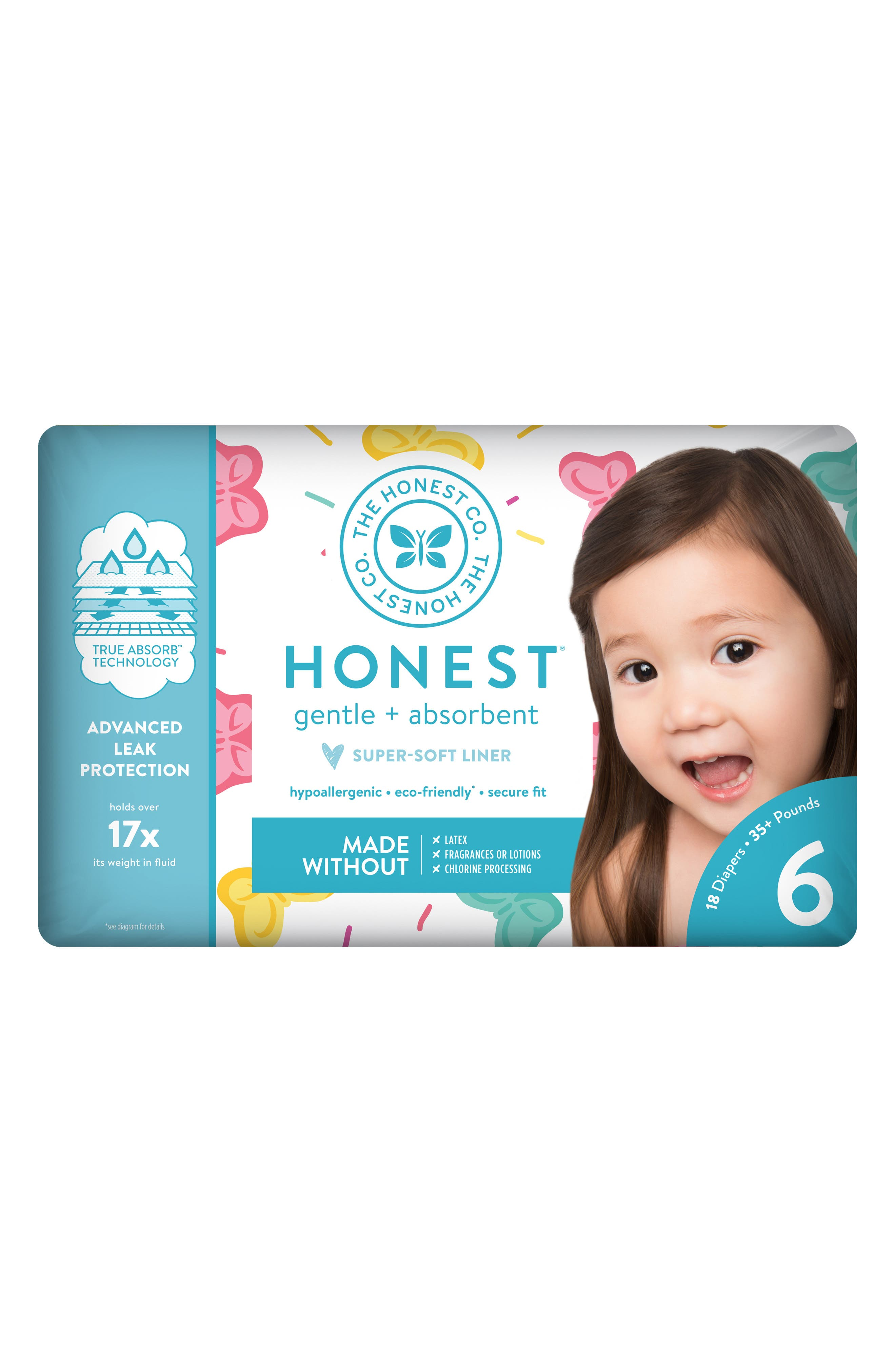 x Sugarfina Sweet Thing Diapers,                             Alternate thumbnail 2, color,                             SWEET THING