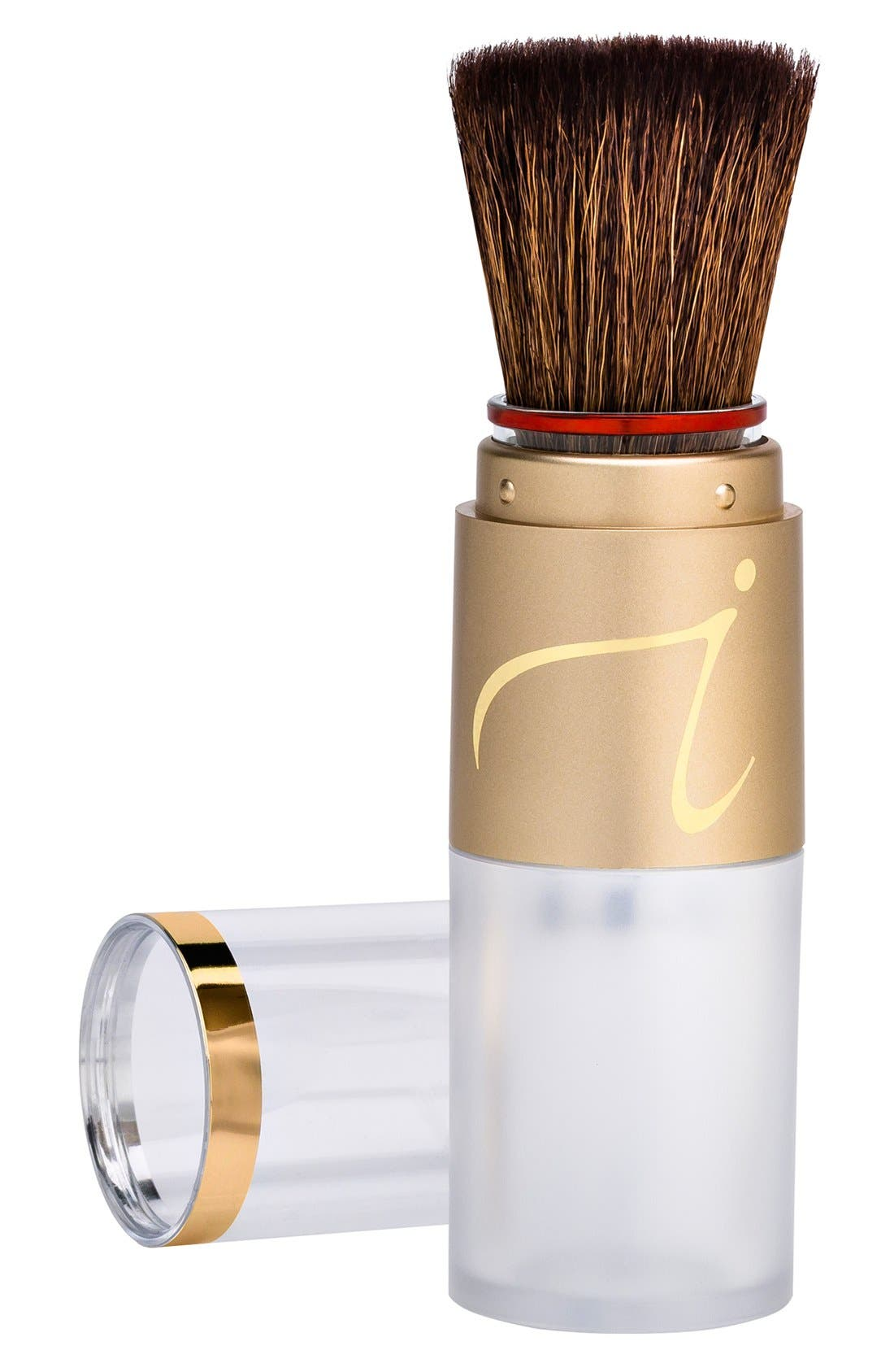 Refill-Me Refillable Loose Powder Brush,                         Main,                         color,