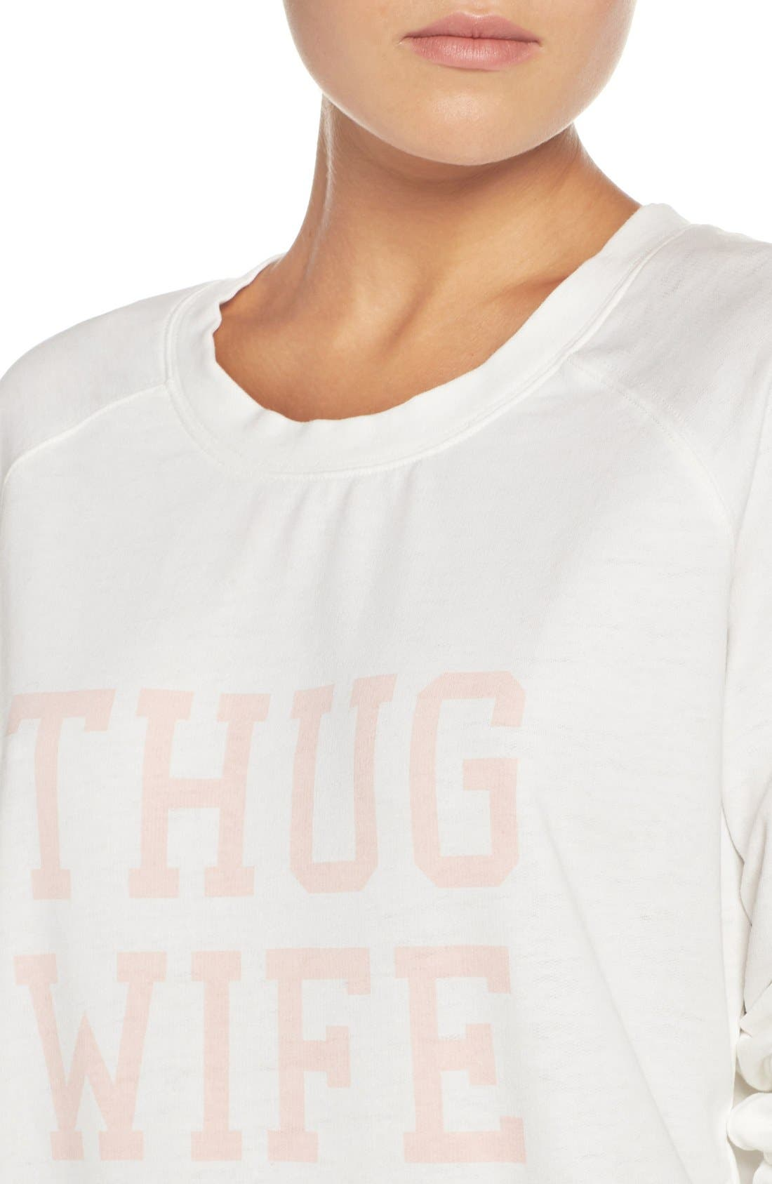 Burnout Lounge Sweatshirt,                             Alternate thumbnail 272, color,