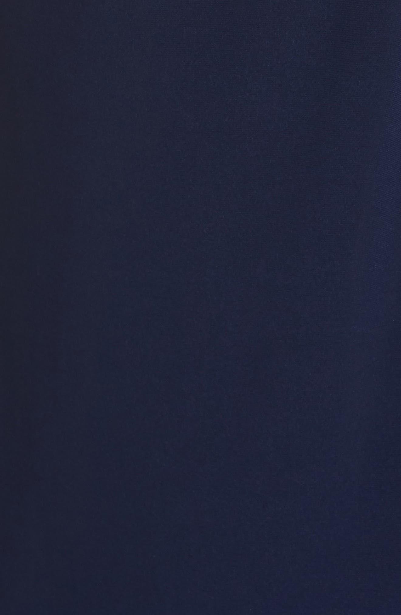 Embellished Shoulder Jersey Gown,                             Alternate thumbnail 9, color,