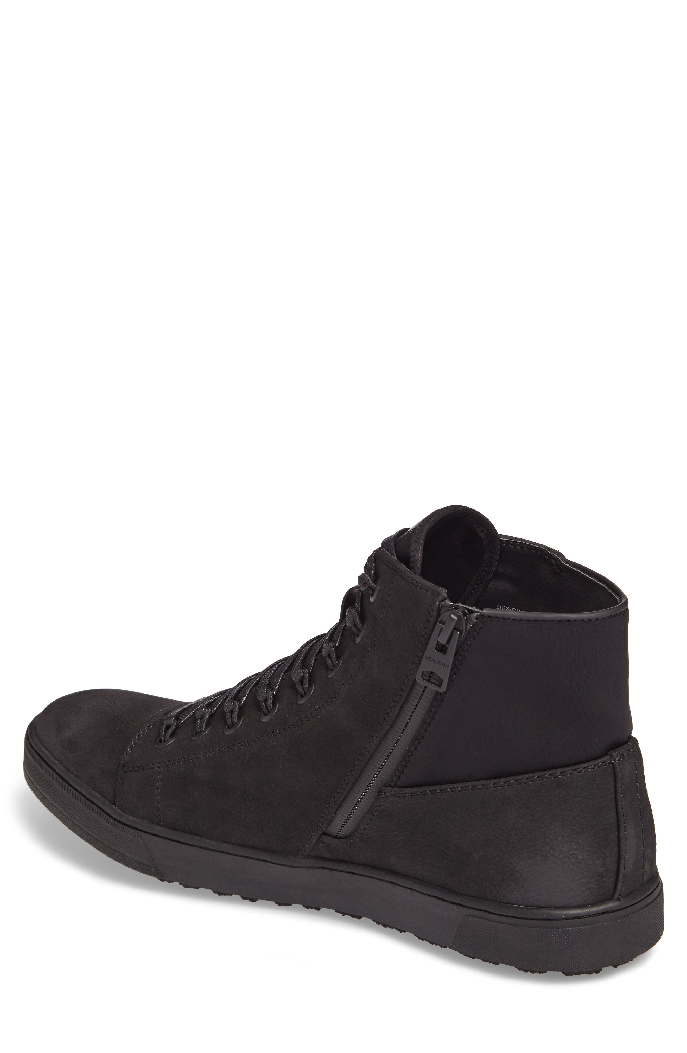 Kenneth Cole Reaction High-Top Sneaker,                             Alternate thumbnail 3, color,