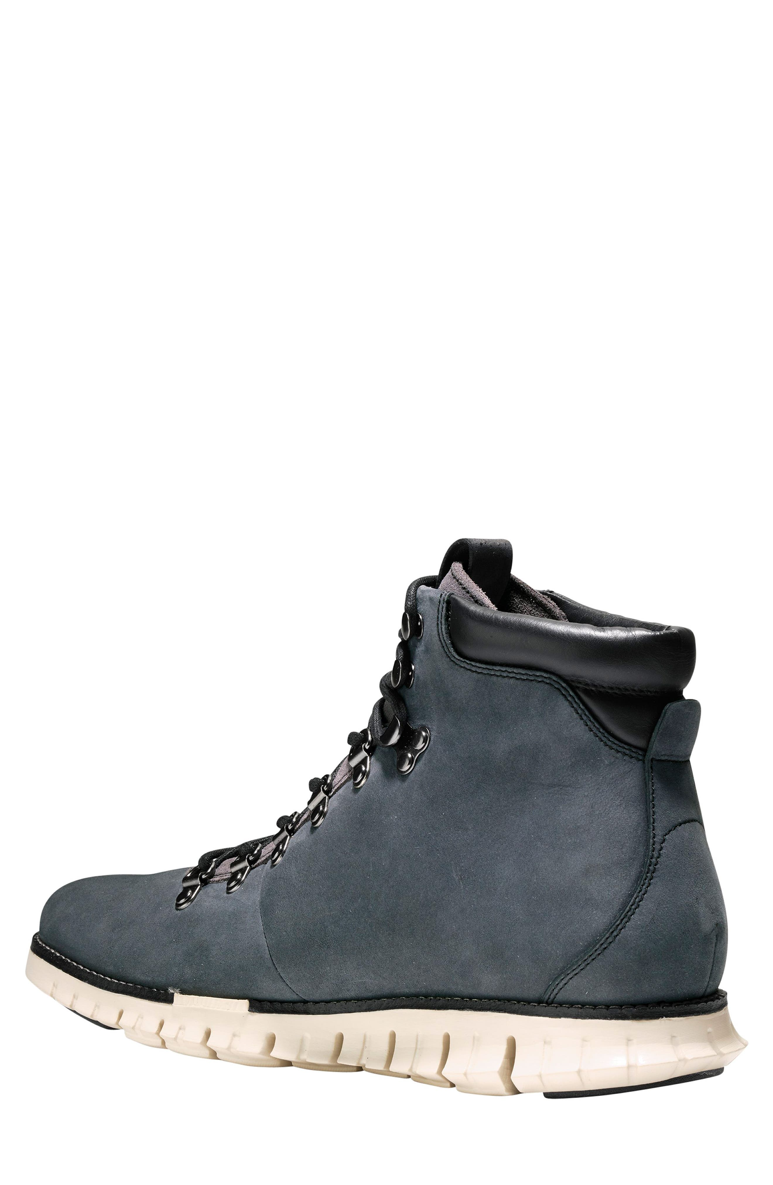 ZeroGrand Water Resistant Hiker Boot,                             Alternate thumbnail 2, color,                             GREY/ IVY LEATHER