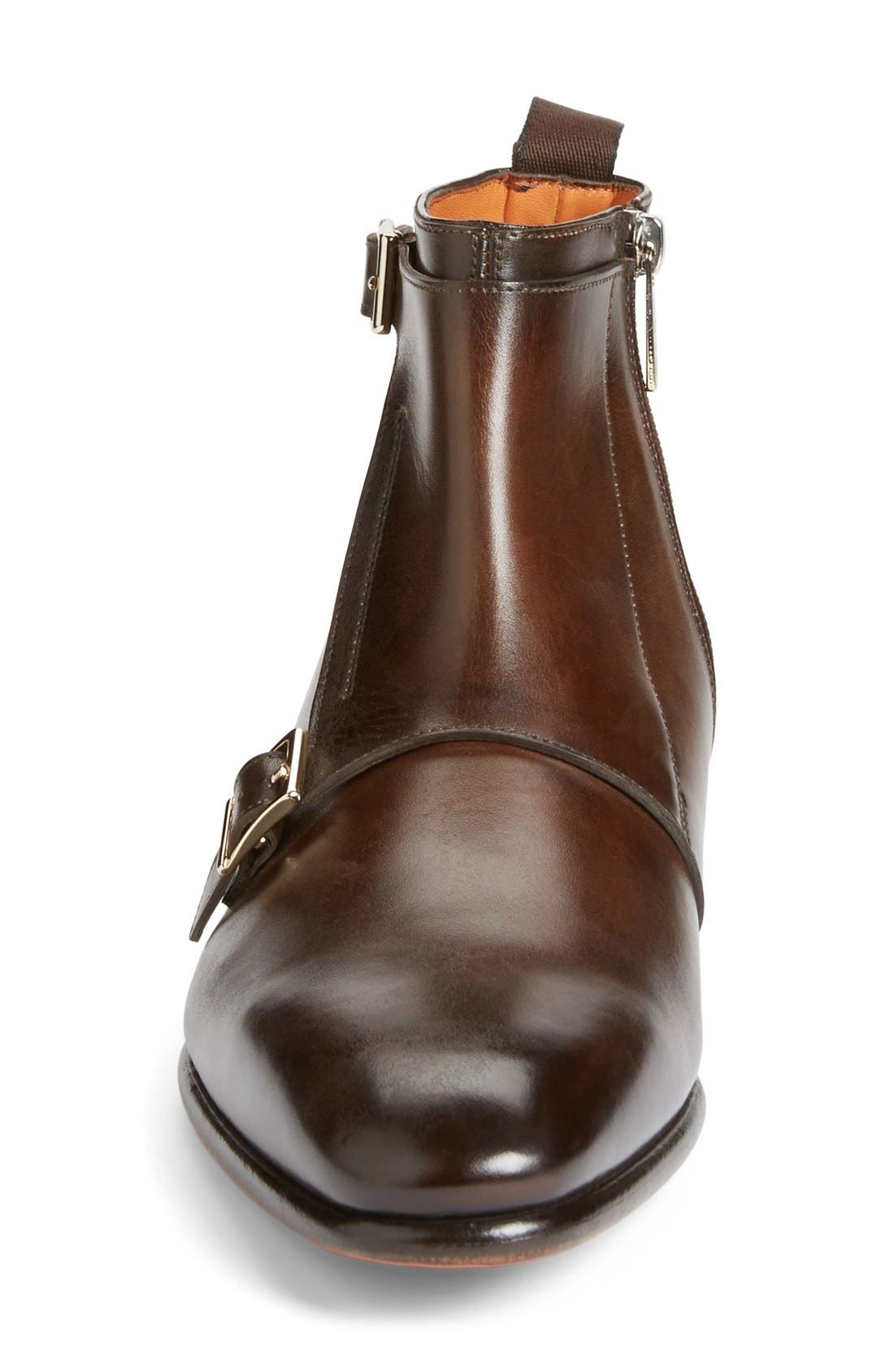 'Ciro' Double Monk Strap Boot,                             Alternate thumbnail 2, color,