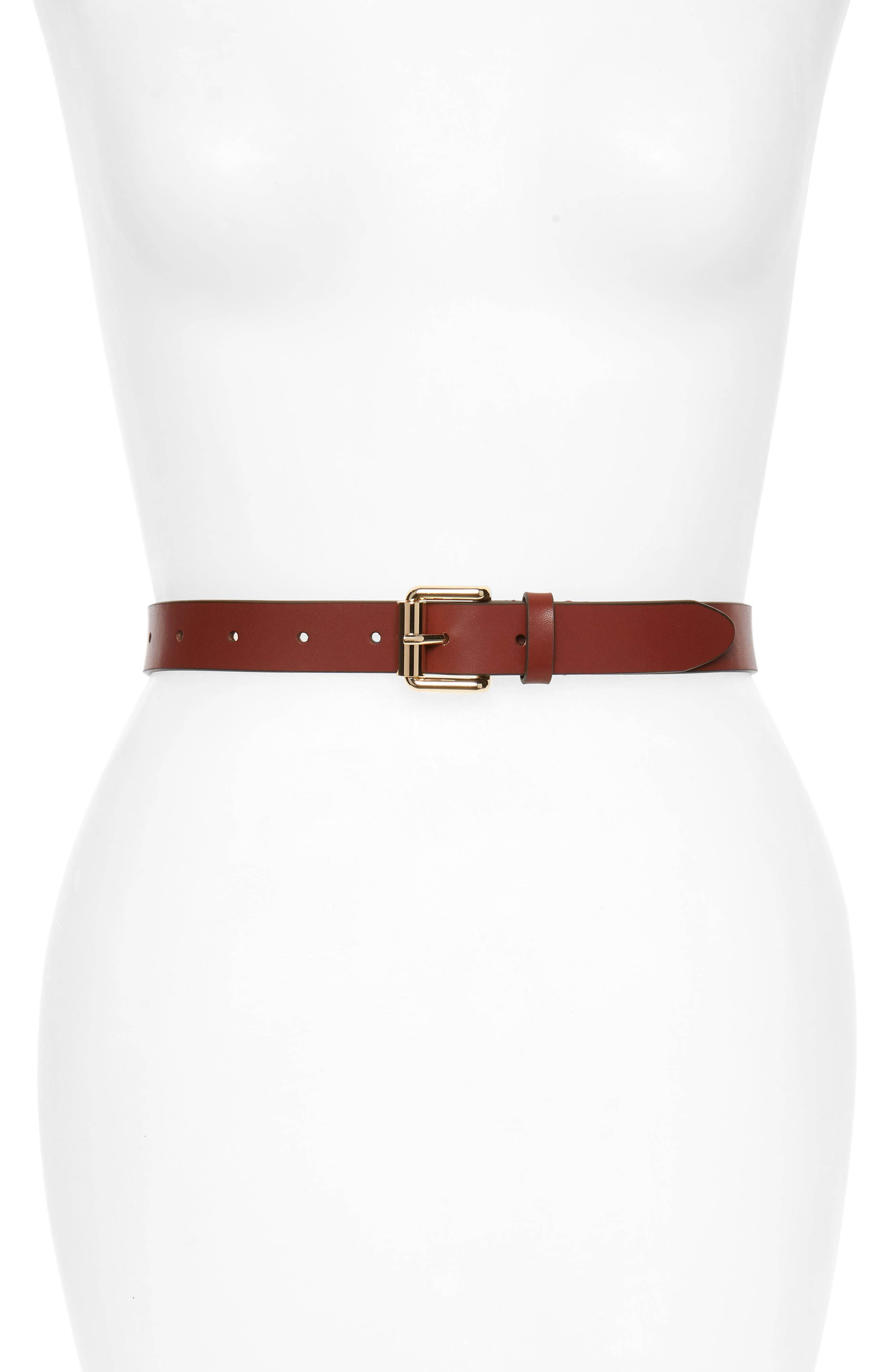 Rebecca Minkoff Double Roller Core Belt, Luggage