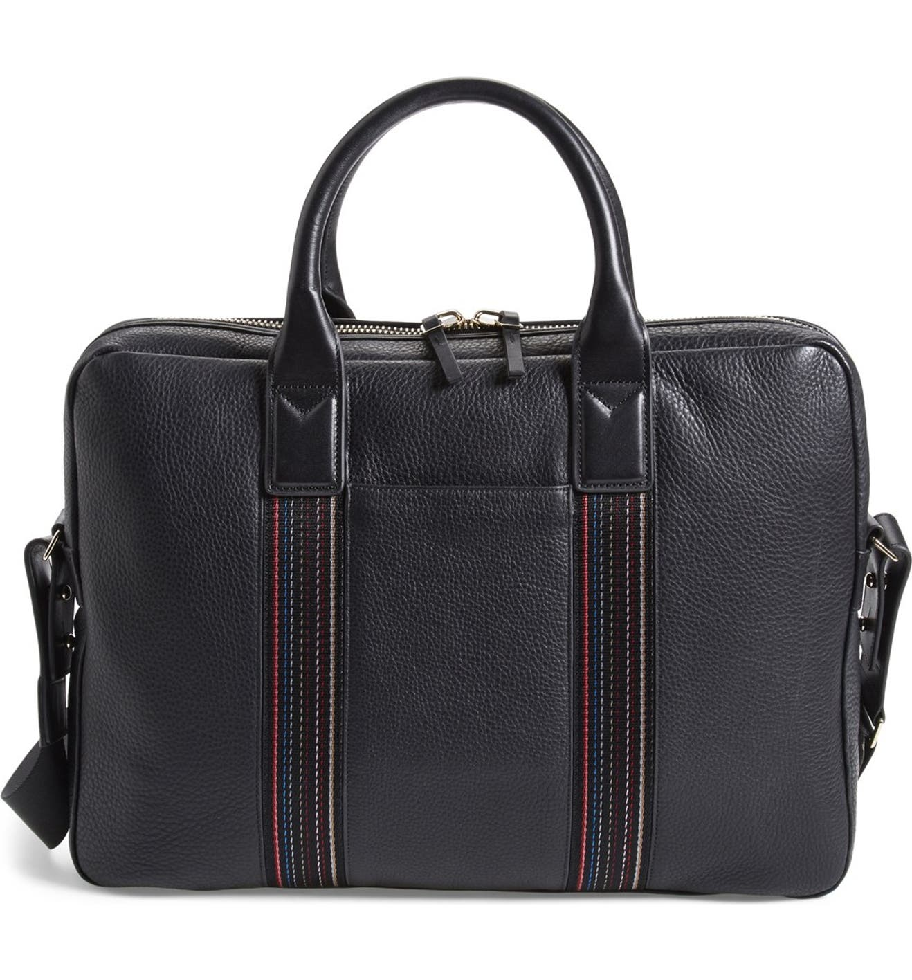Paul Smith  City Web  Leather Briefcase  55b305b9f32c6