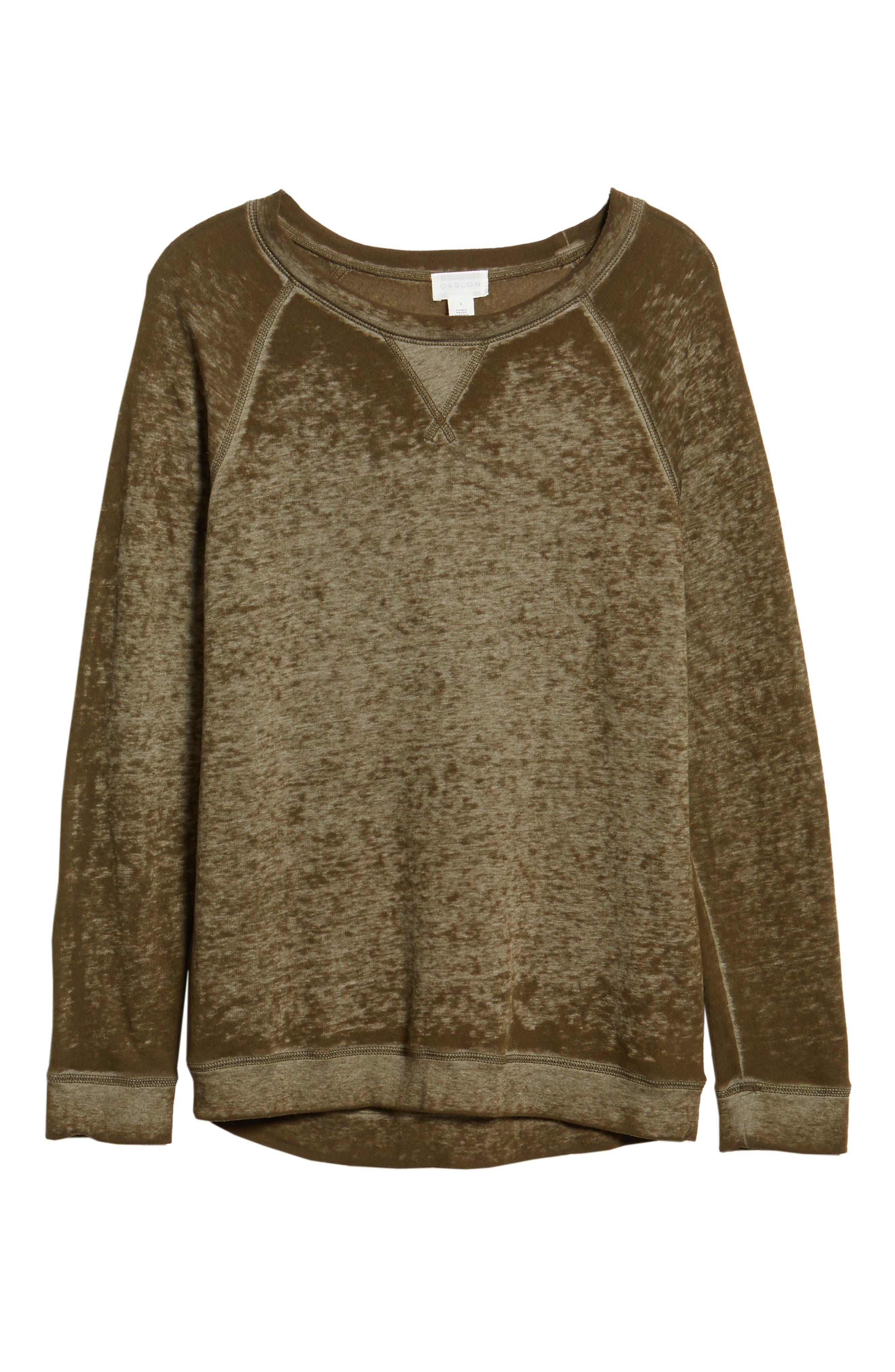 Burnout Sweatshirt,                             Alternate thumbnail 101, color,