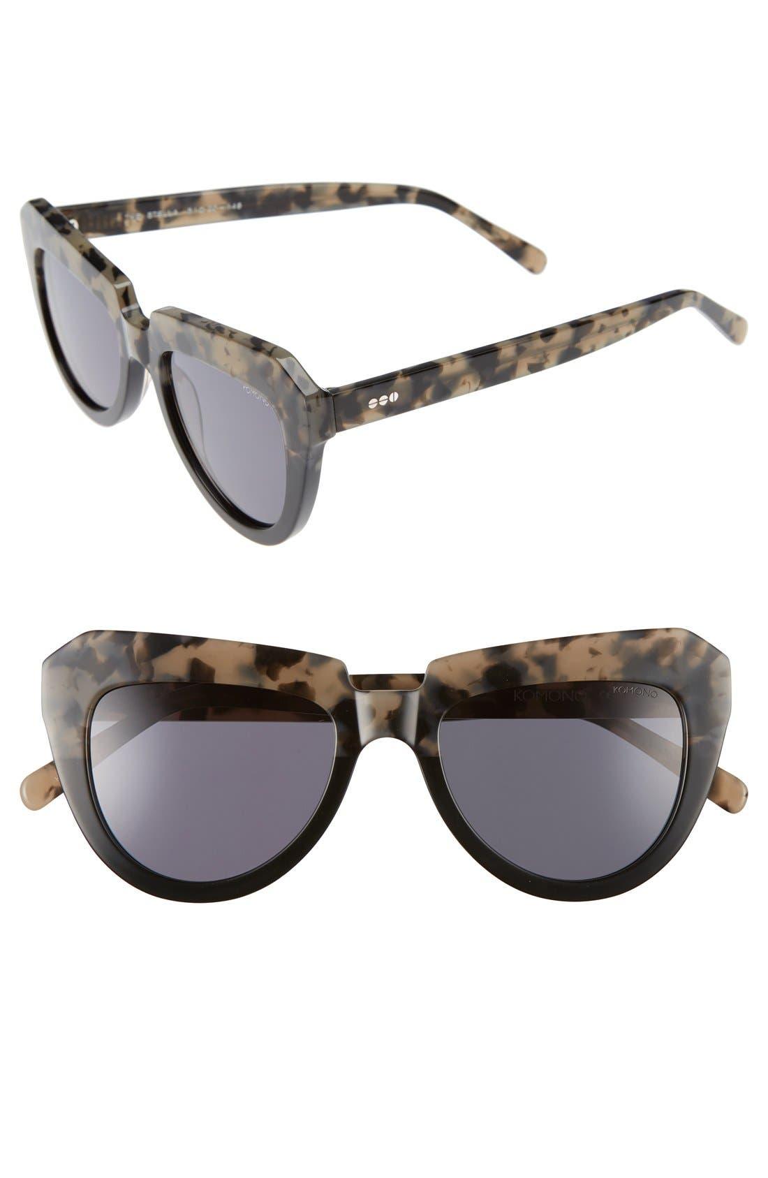 Stella 51mm Sunglasses,                             Main thumbnail 1, color,