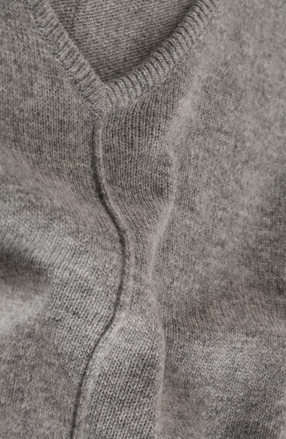 Mixed Media Drop Shoulder Sweater,                             Alternate thumbnail 5, color,                             050