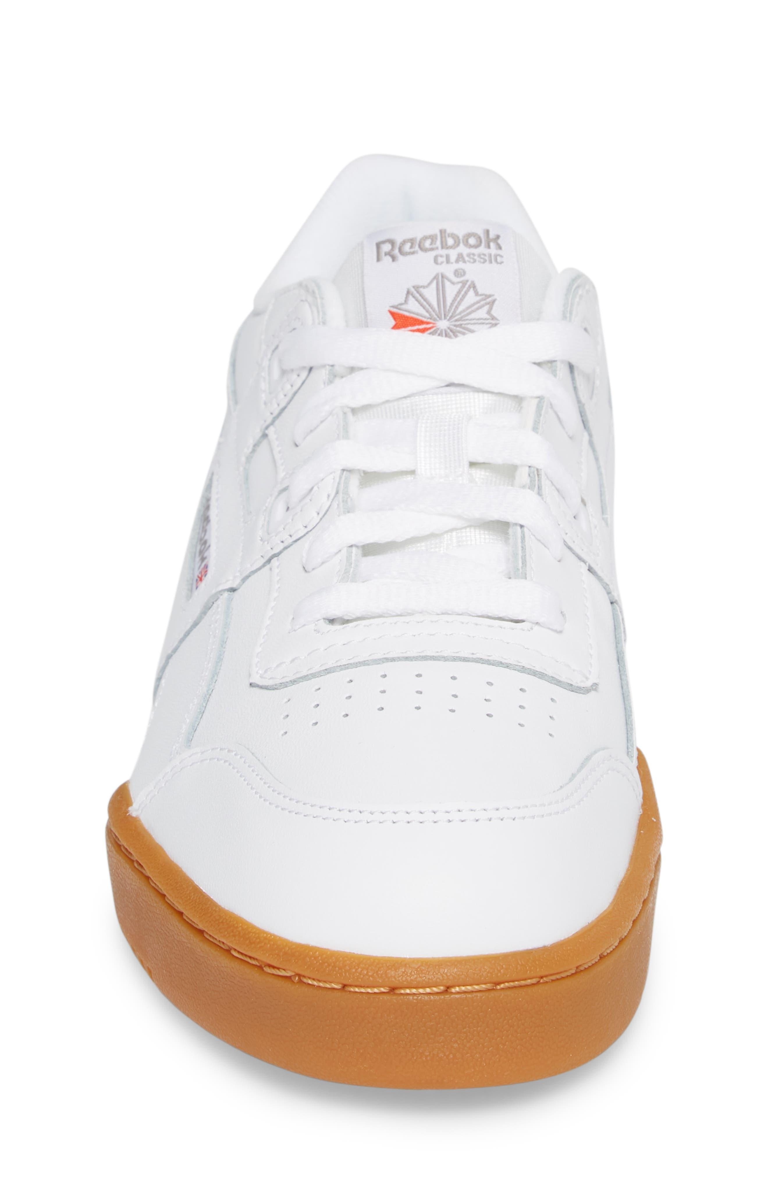 Workout Plus Sneaker,                             Alternate thumbnail 4, color,                             WHITE