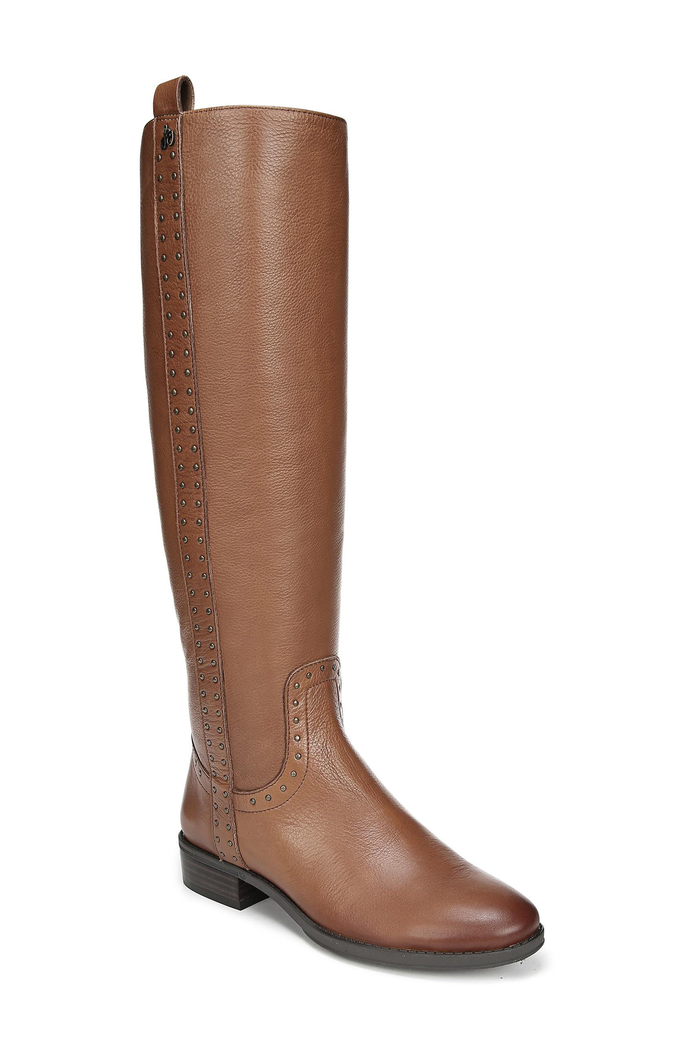 Sam Edelman Prina Riding Boot- Brown