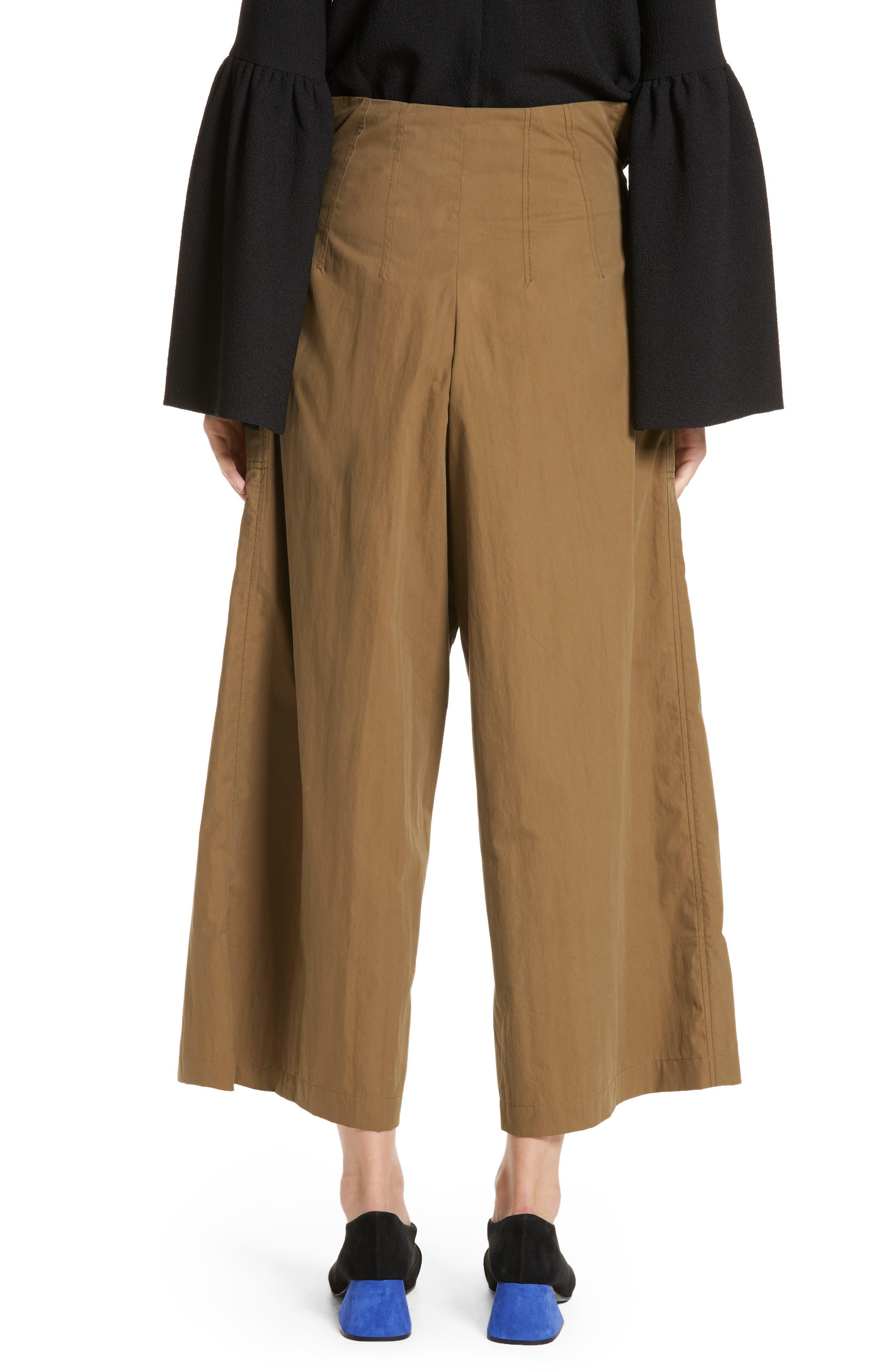 Tilly Belted Paperbag Pants,                             Alternate thumbnail 2, color,                             310