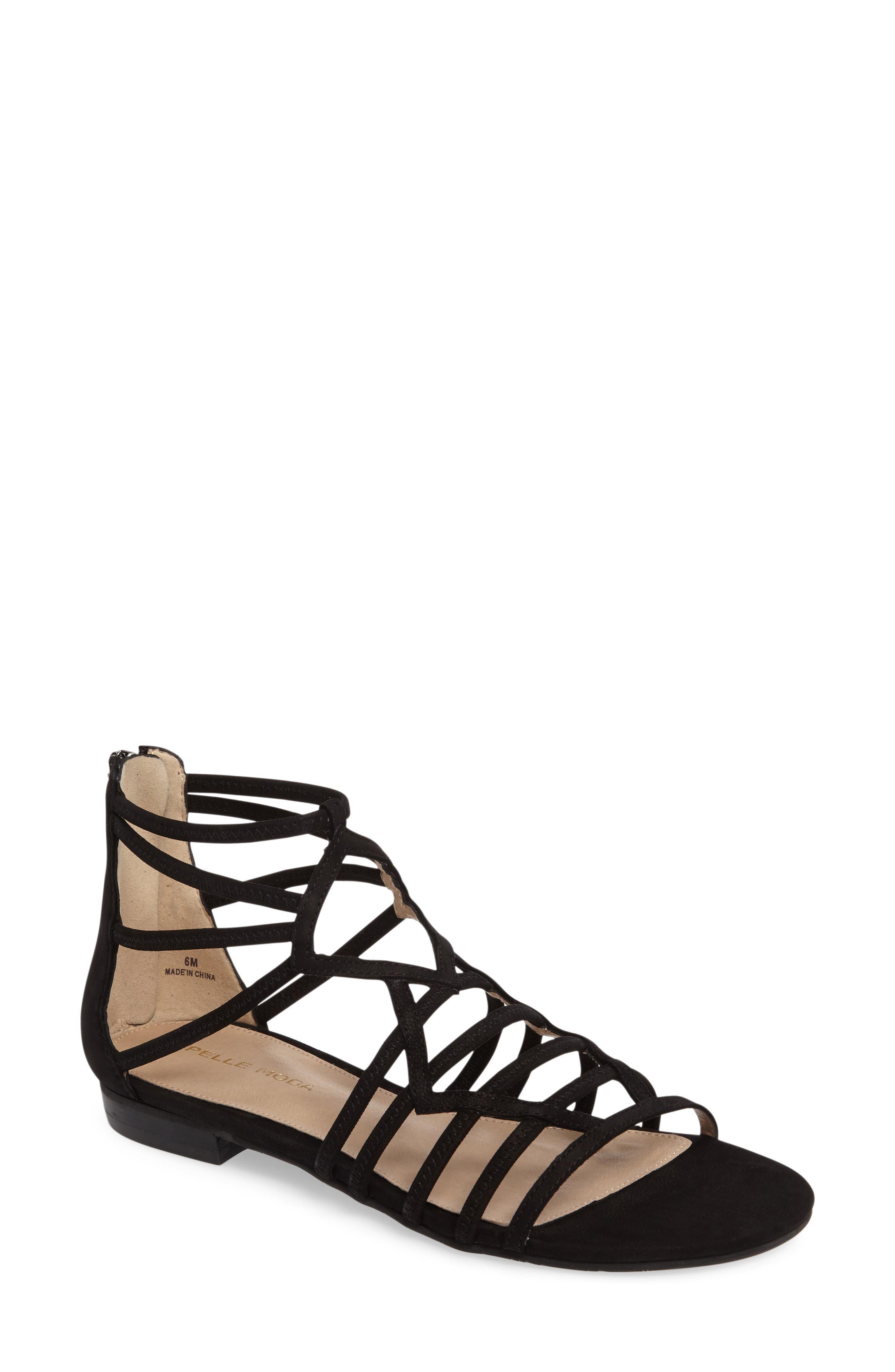 Brazil Strappy Sandal,                         Main,                         color, 001