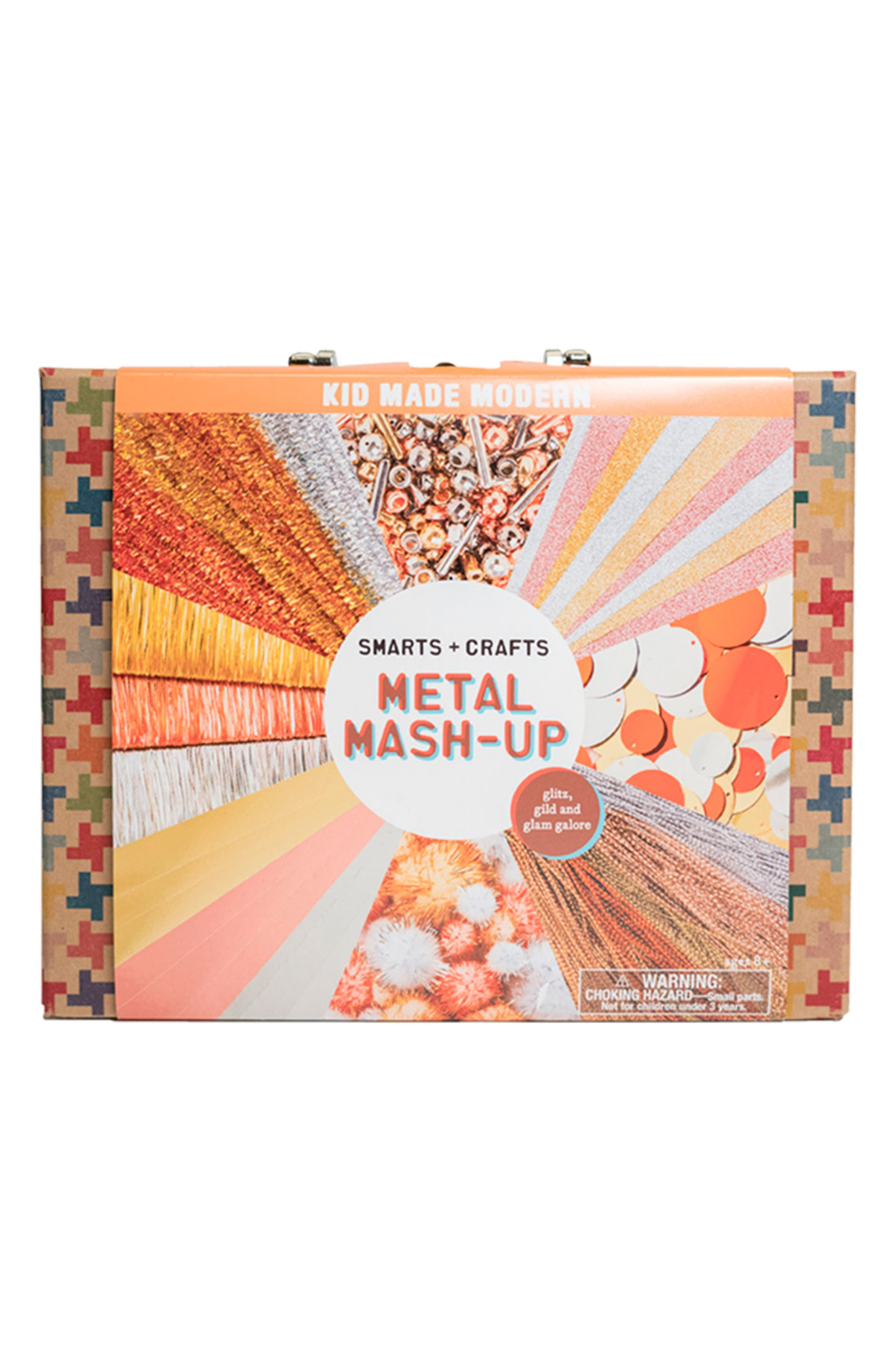 Smarts and Crafts Metal Mash-Up Art Set,                             Main thumbnail 1, color,                             100