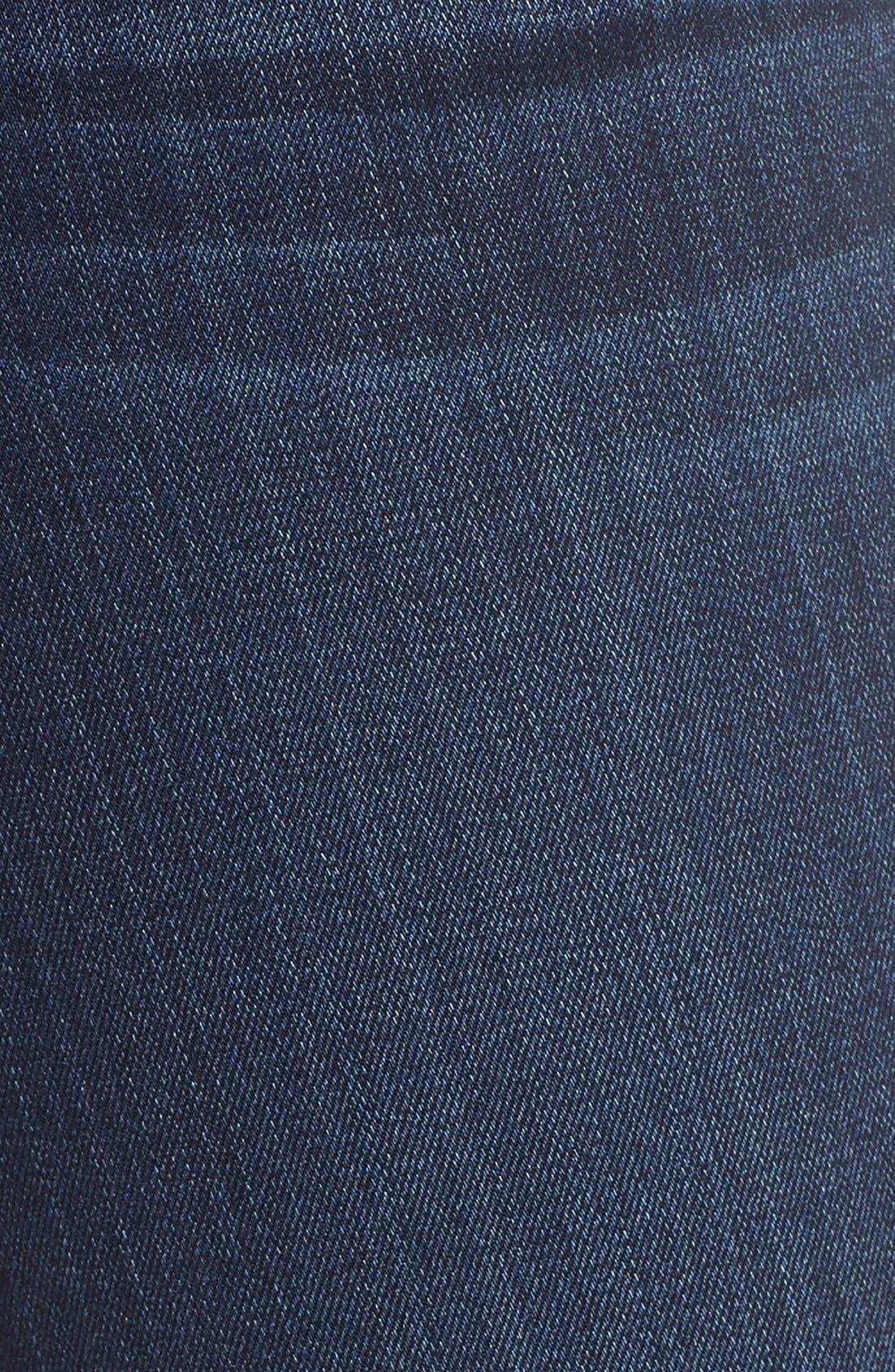 Transcend - Hoxton High Waist Ankle Ultra Skinny Jeans,                             Alternate thumbnail 3, color,                             HARTMANN