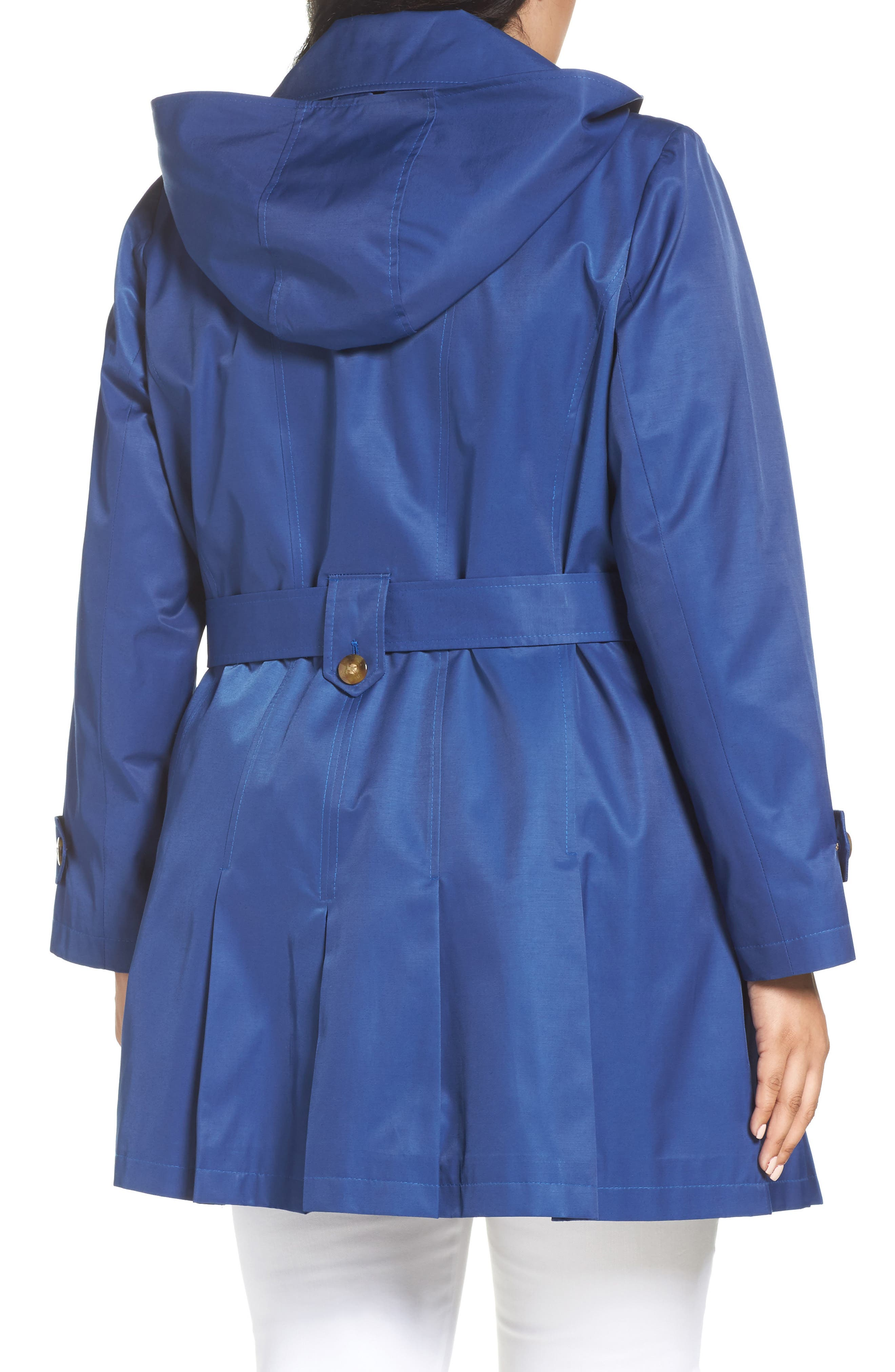 'Scarpa' Single Breasted Trench Coat,                             Alternate thumbnail 10, color,