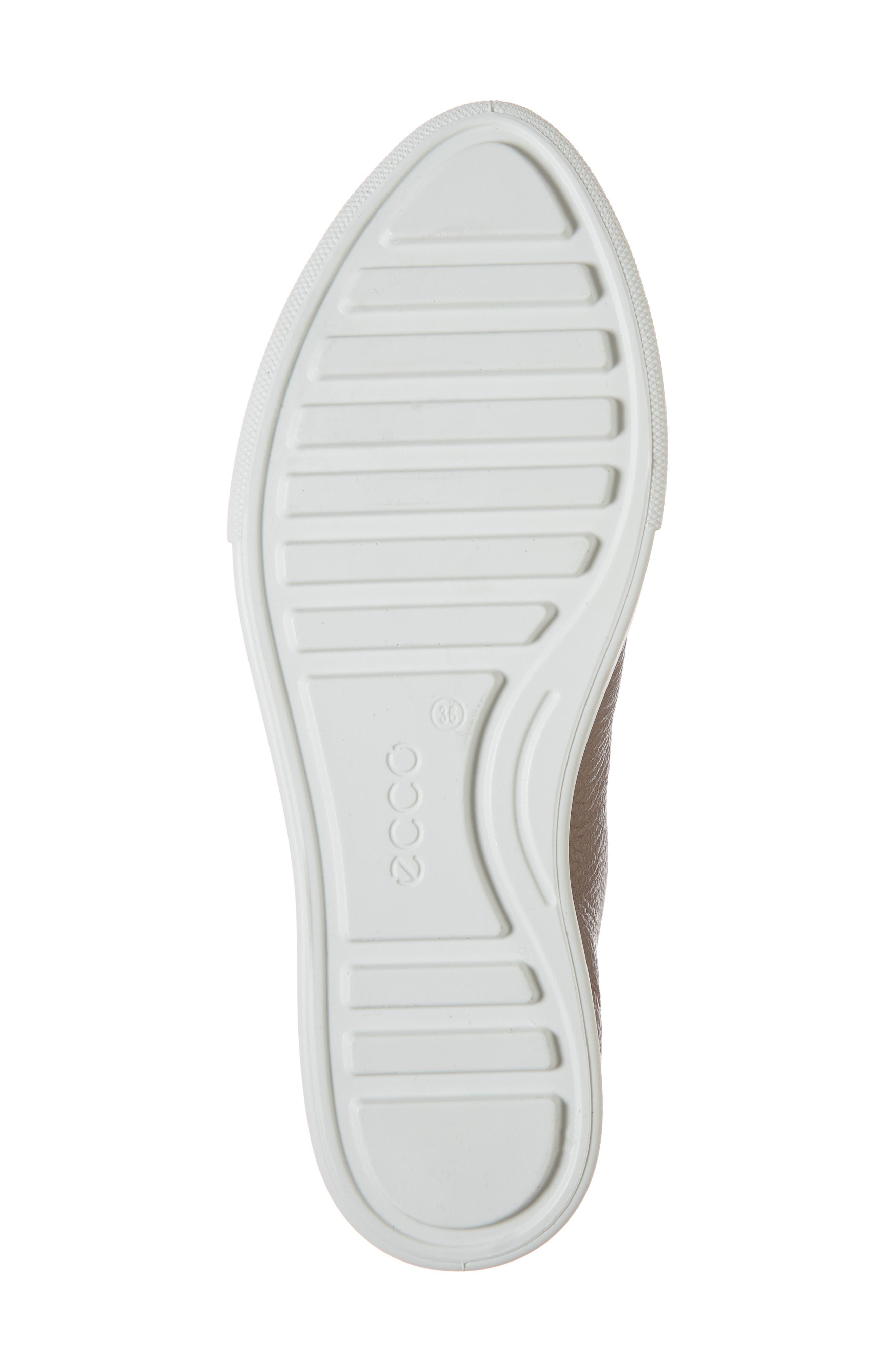 Gillian Sneaker,                             Alternate thumbnail 6, color,                             DEEP TAUPE/ BRONZE LEATHER