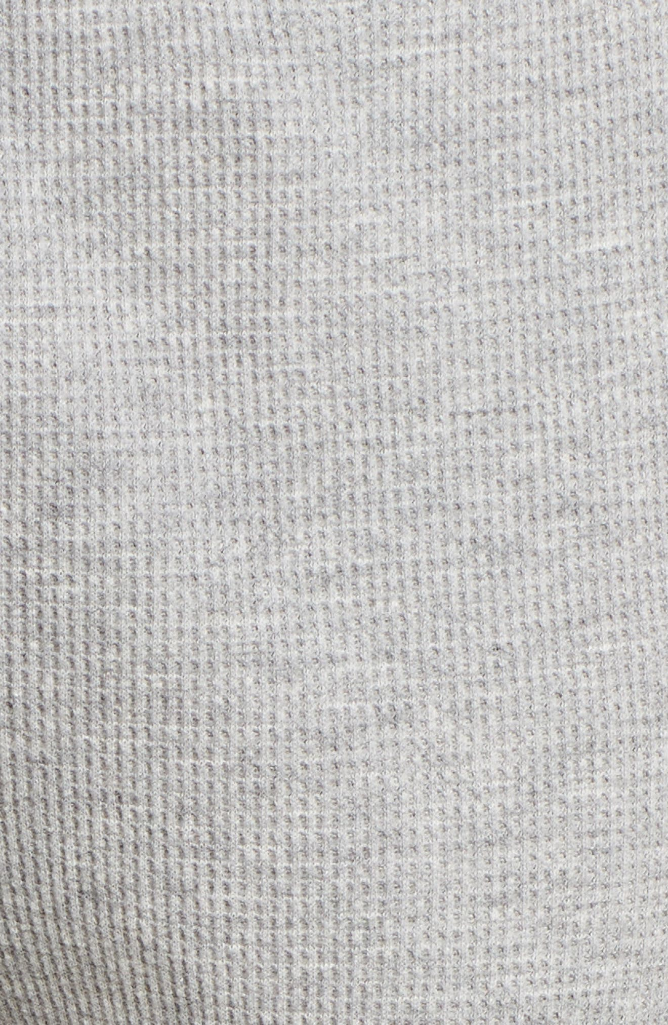 Ily Waffle Knit Lounge Pants,                             Alternate thumbnail 5, color,                             020