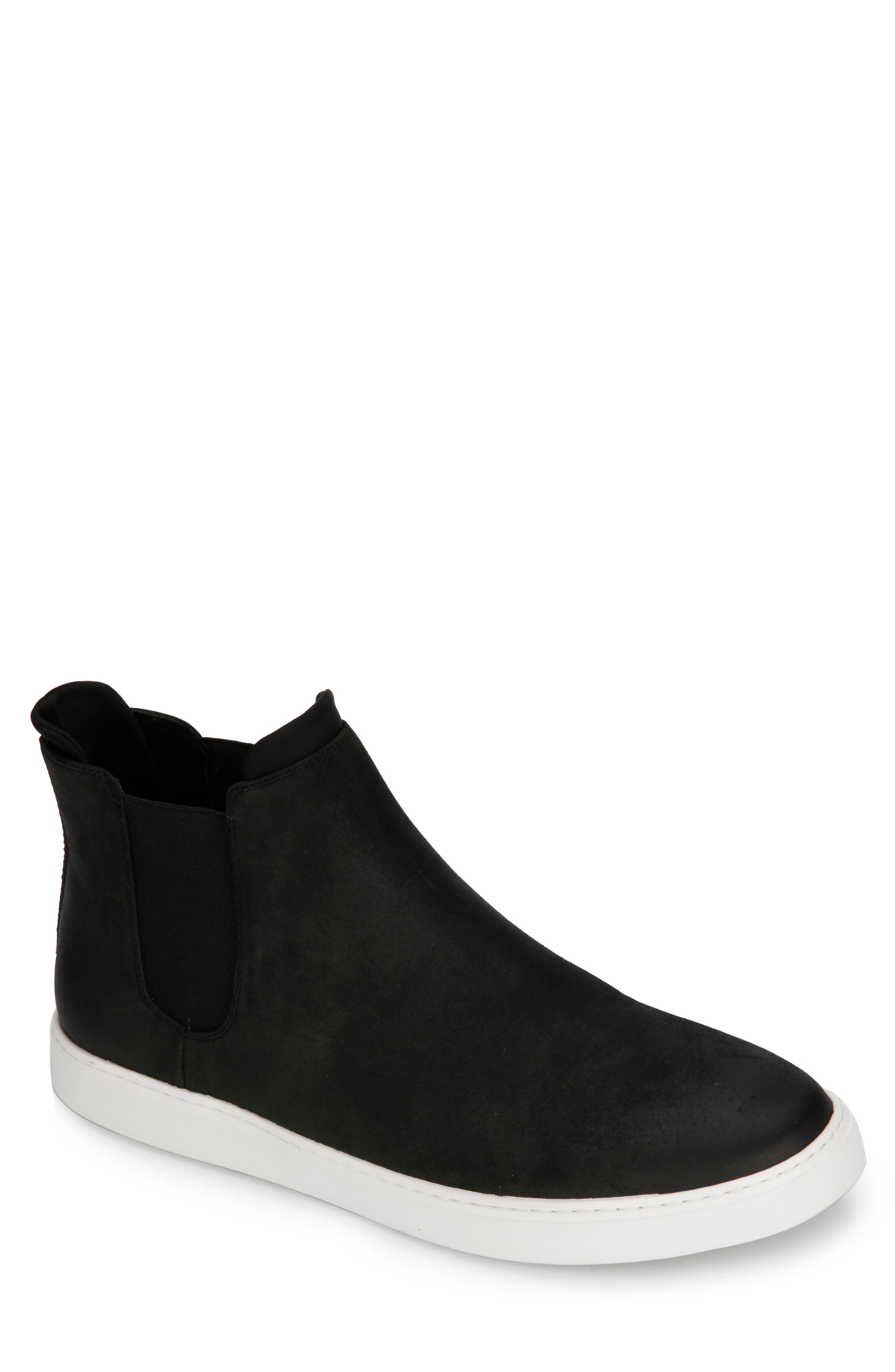 Reaction Kenneth Cole Indy High Top Sneaker, Black