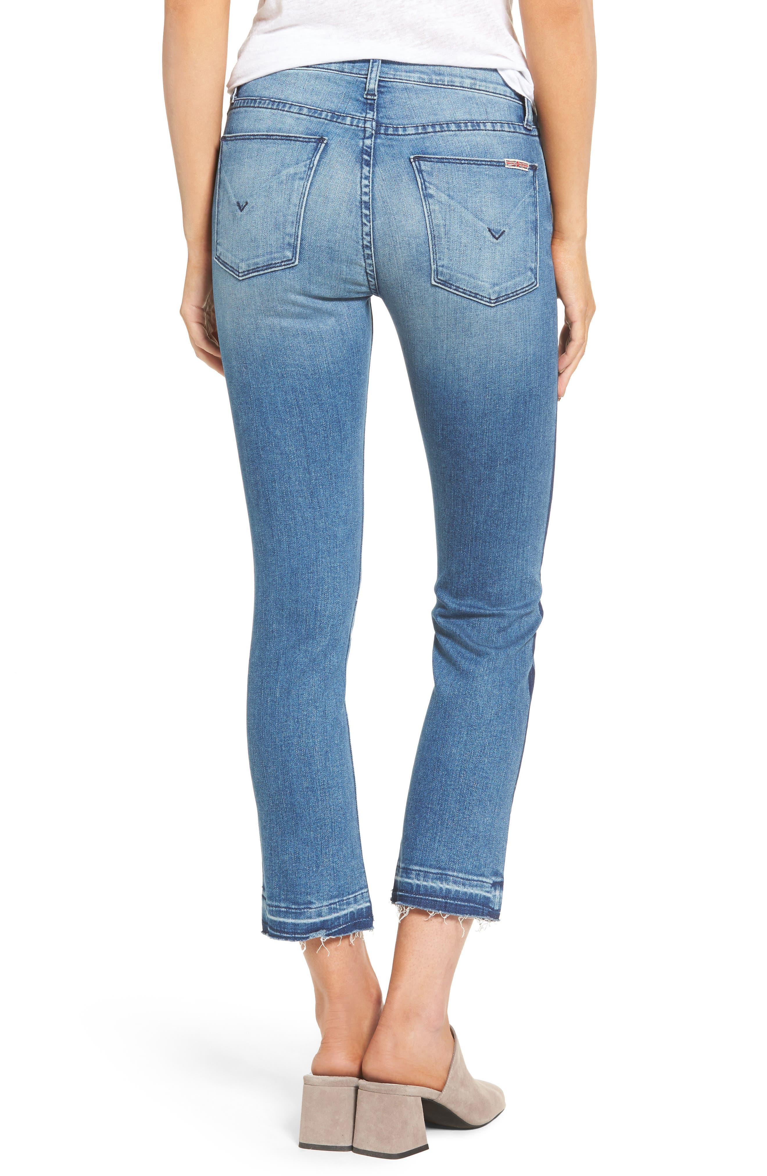 Tilda Crop Straight Leg Jeans,                             Alternate thumbnail 2, color,                             425