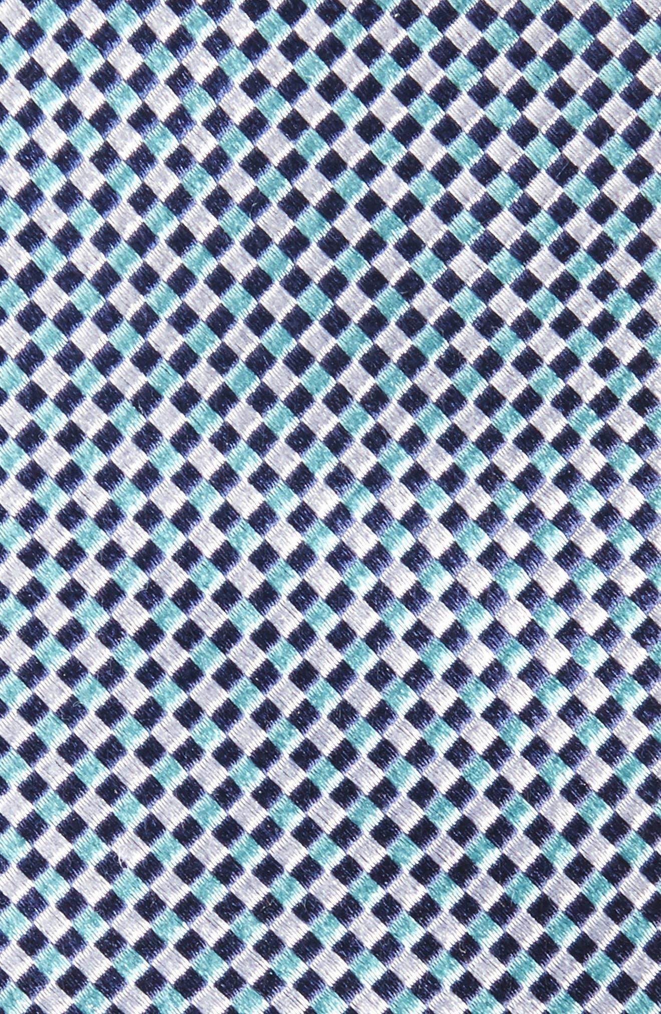 NORDSTROM MEN'S SHOP,                             Solid Silk Skinny Tie,                             Alternate thumbnail 2, color,                             450