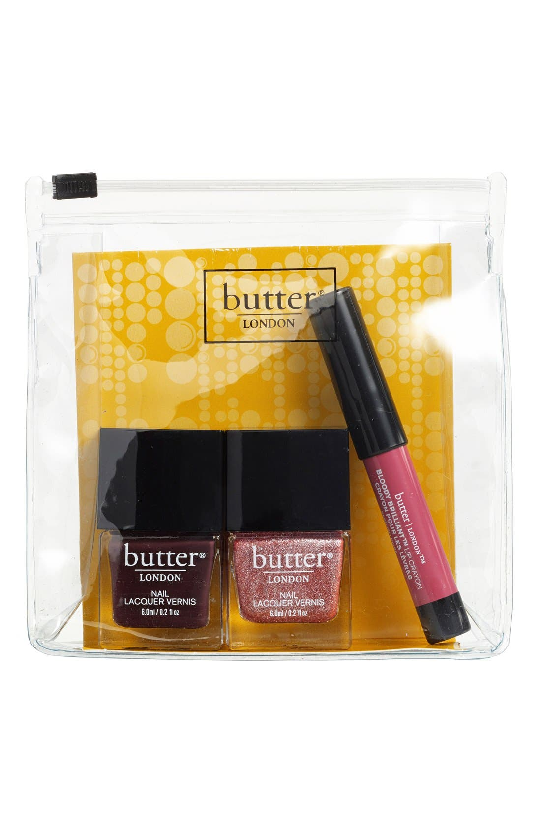 BUTTER LONDON,                             'Fancy Flirt' Set,                             Alternate thumbnail 2, color,                             650