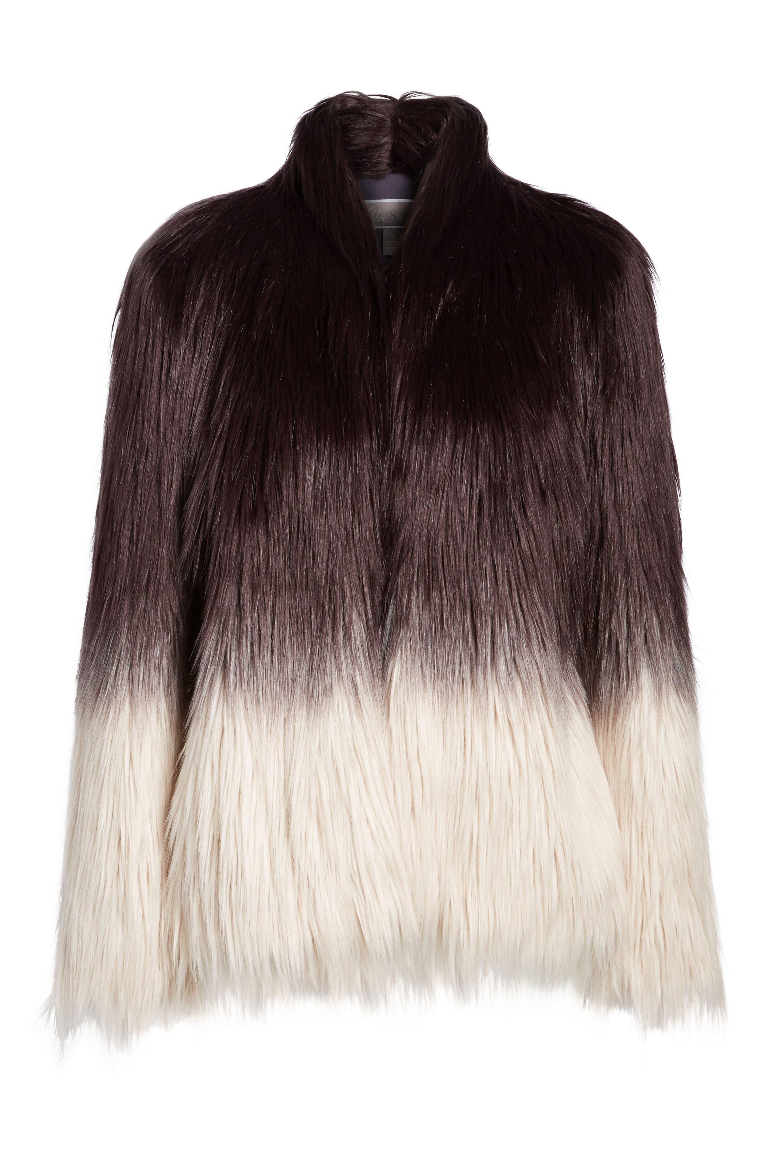 Faux Fur Jacket,                             Alternate thumbnail 5, color,                             501