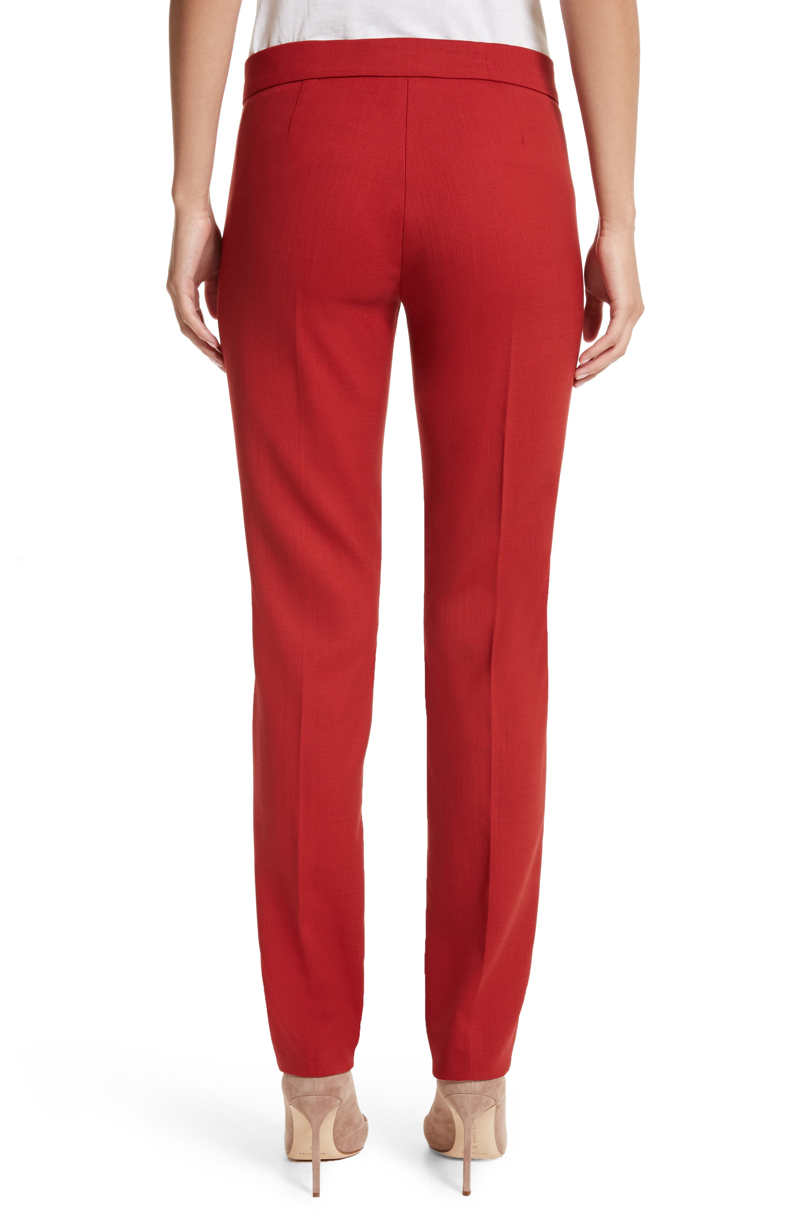 Oscuro Stretch Wool Pants,                             Alternate thumbnail 2, color,                             614