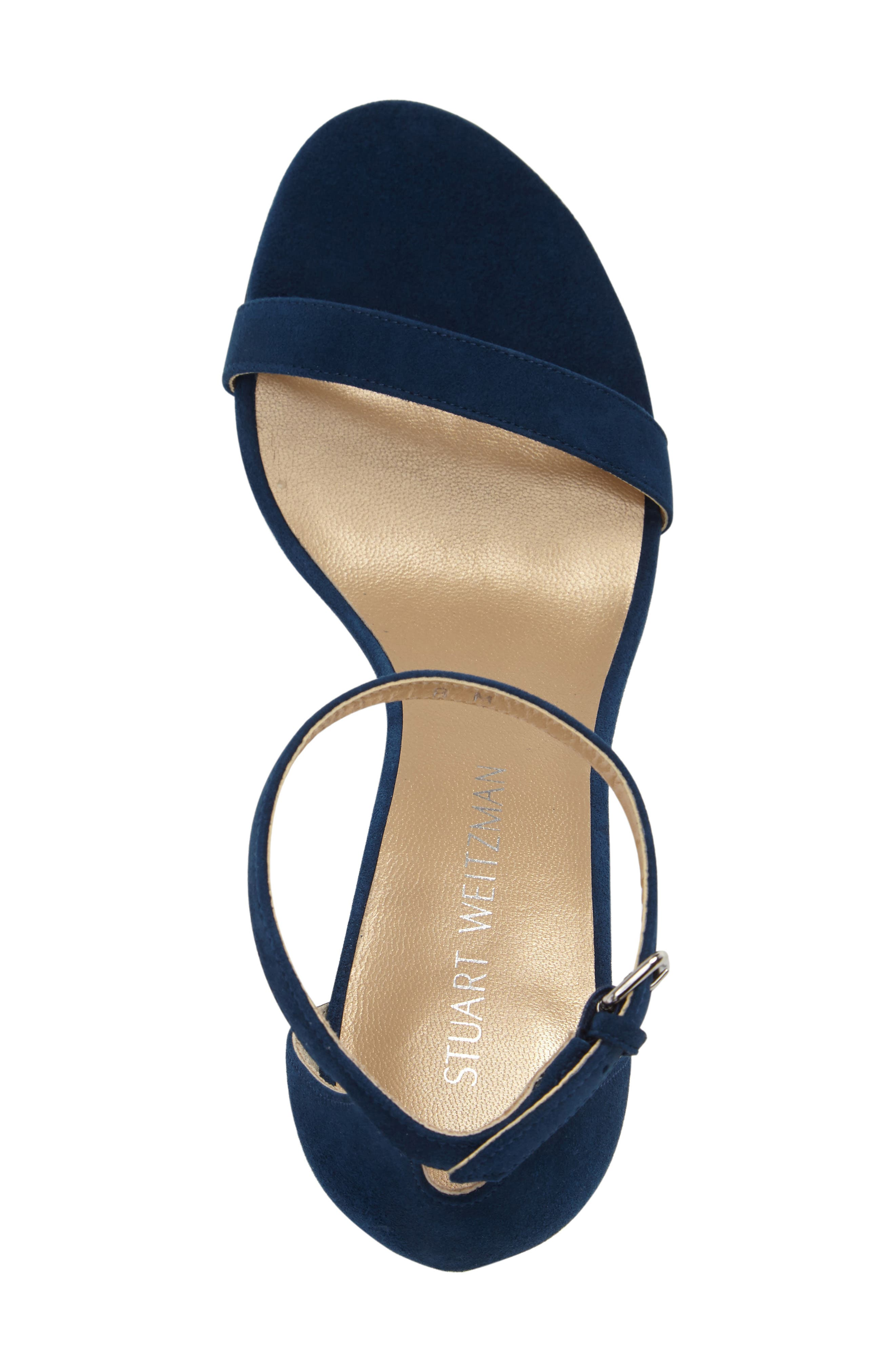 NearlyNude Ankle Strap Sandal,                             Alternate thumbnail 77, color,