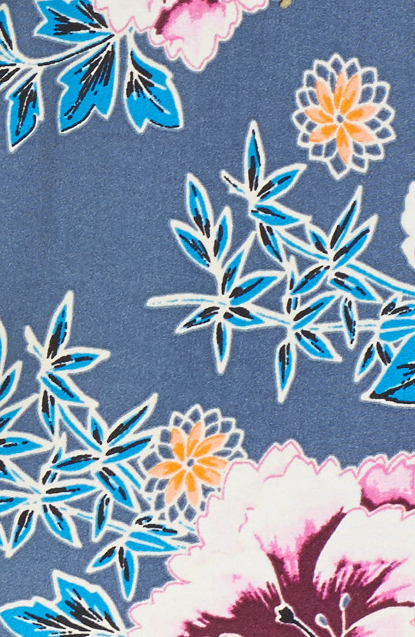 Bloom Cutout Hipster Bikini Bottoms,                             Alternate thumbnail 5, color,