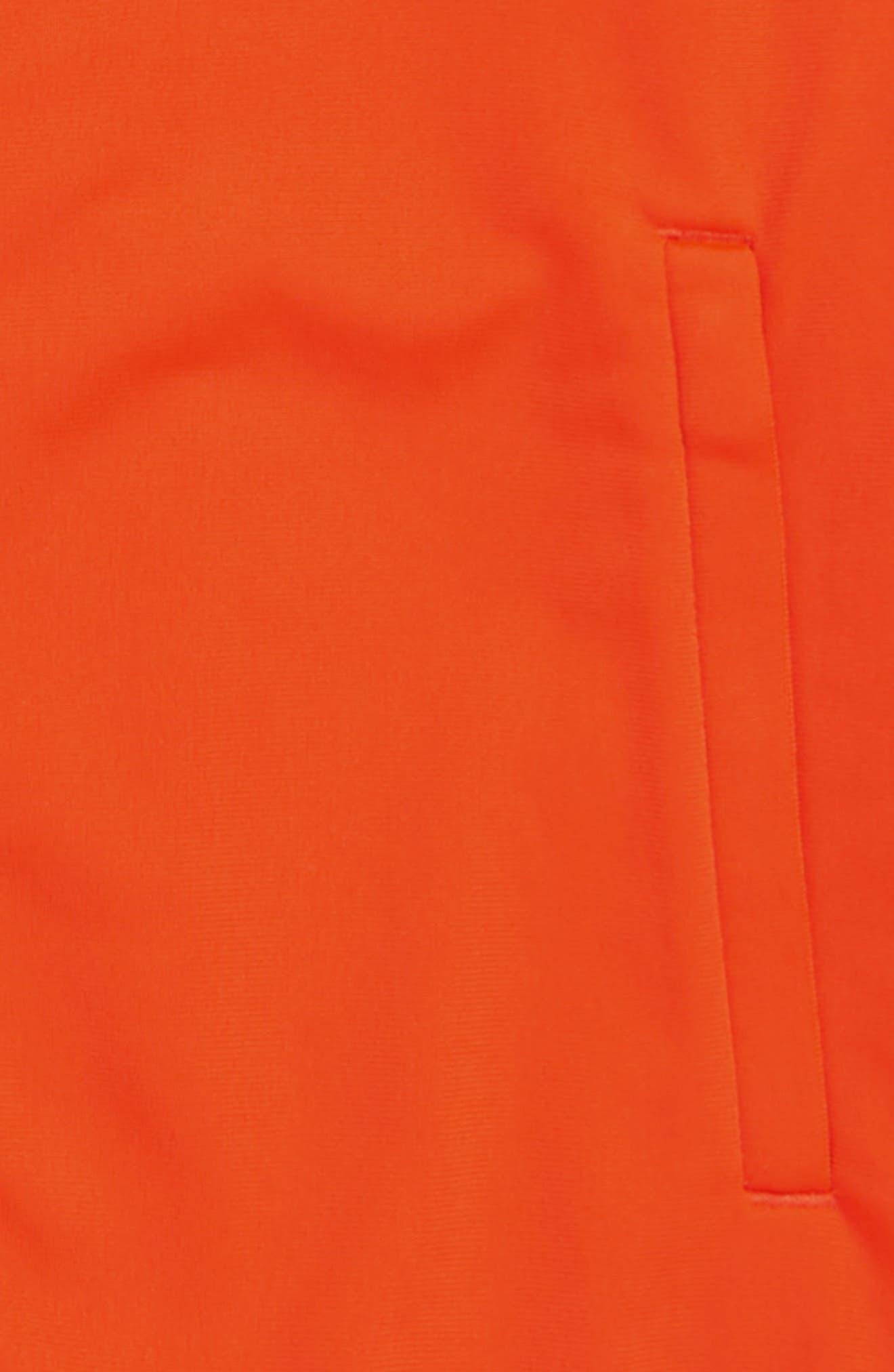 Superstar Track Jacket,                             Alternate thumbnail 2, color,                             ACTIVE ORANGE/ WHITE