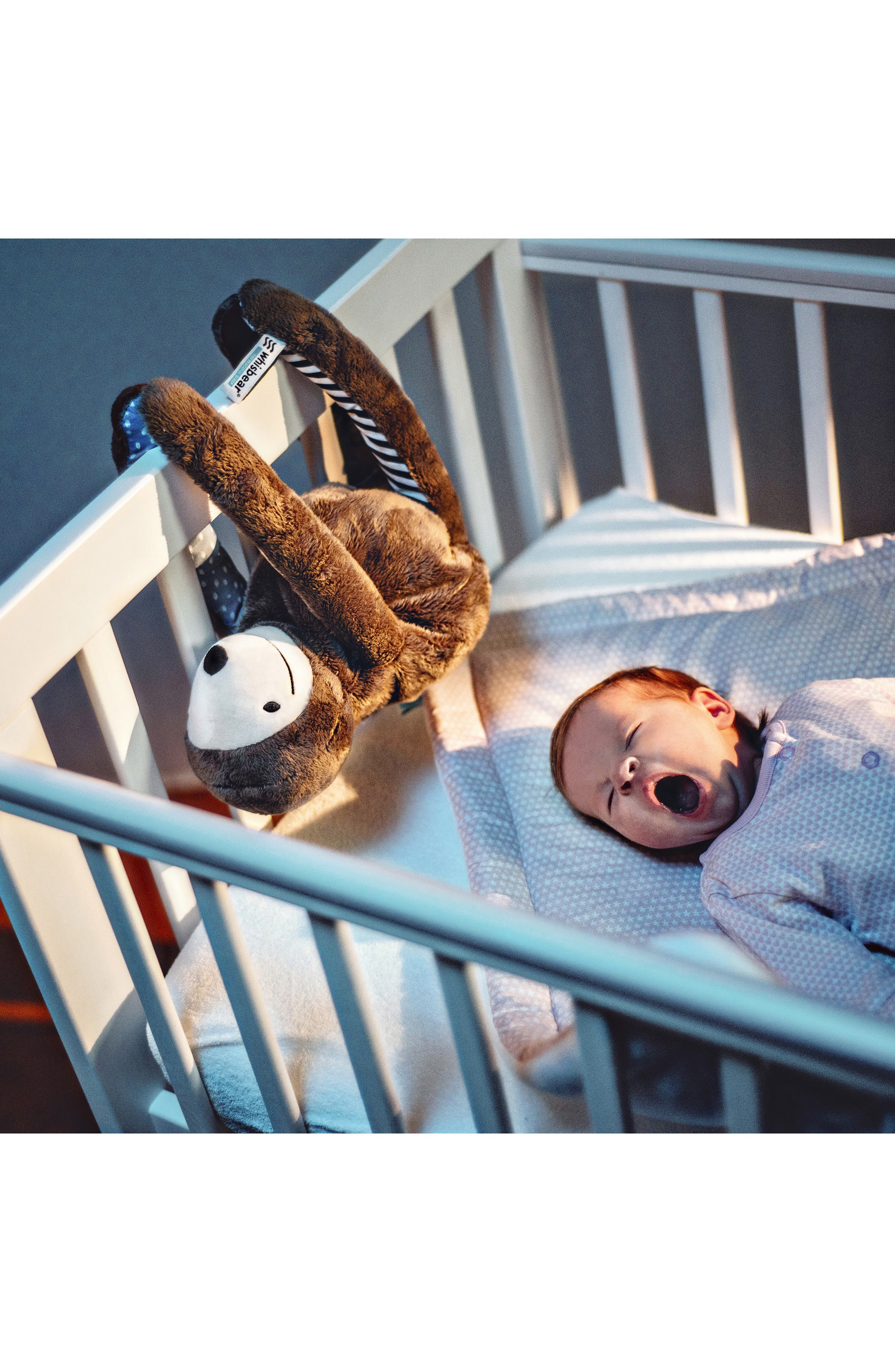 E-zzy the Sloth Baby Sleep Machine,                             Alternate thumbnail 5, color,                             BROWN