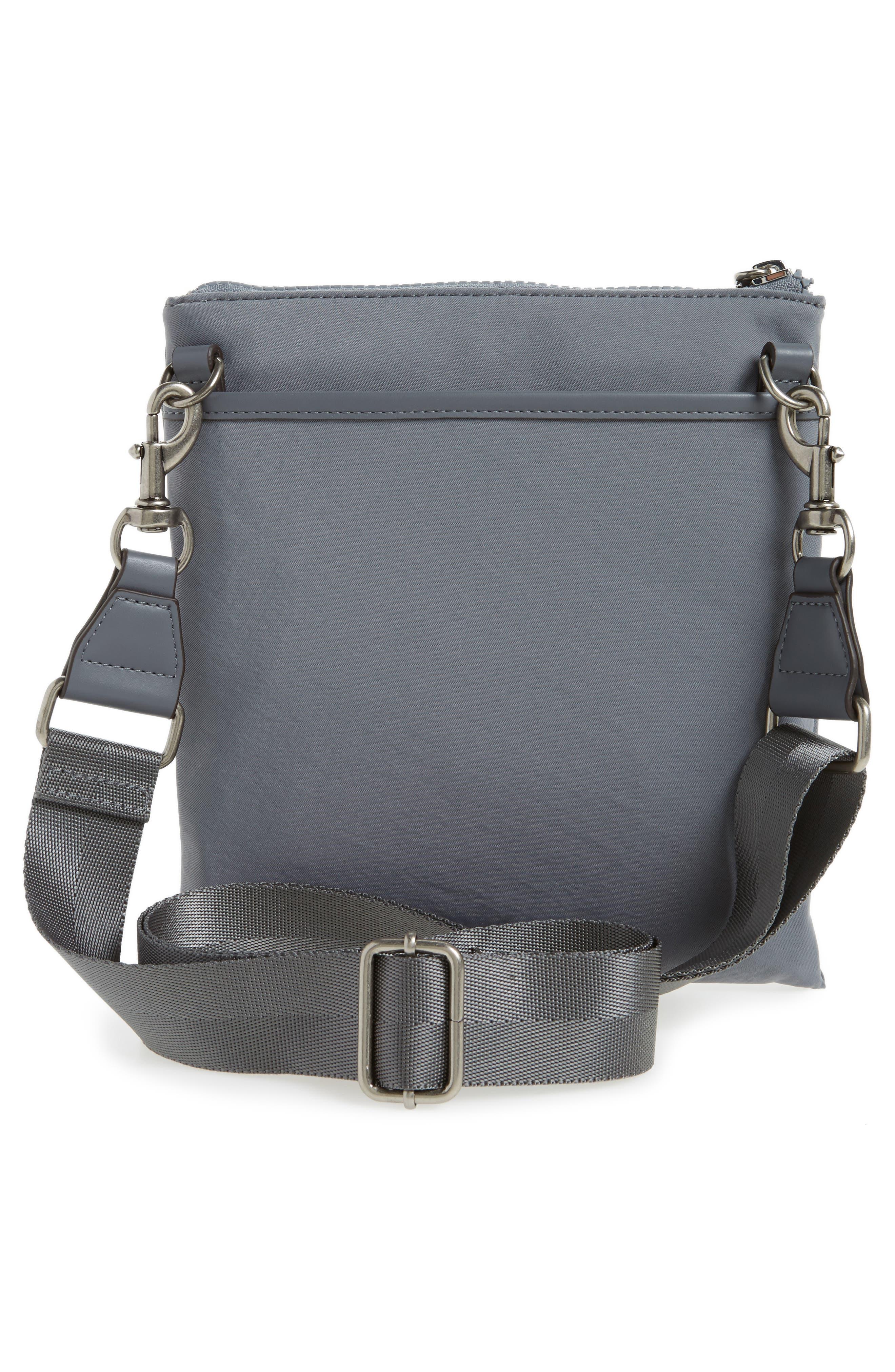 Nylon Flap Crossbody Bag,                             Alternate thumbnail 14, color,