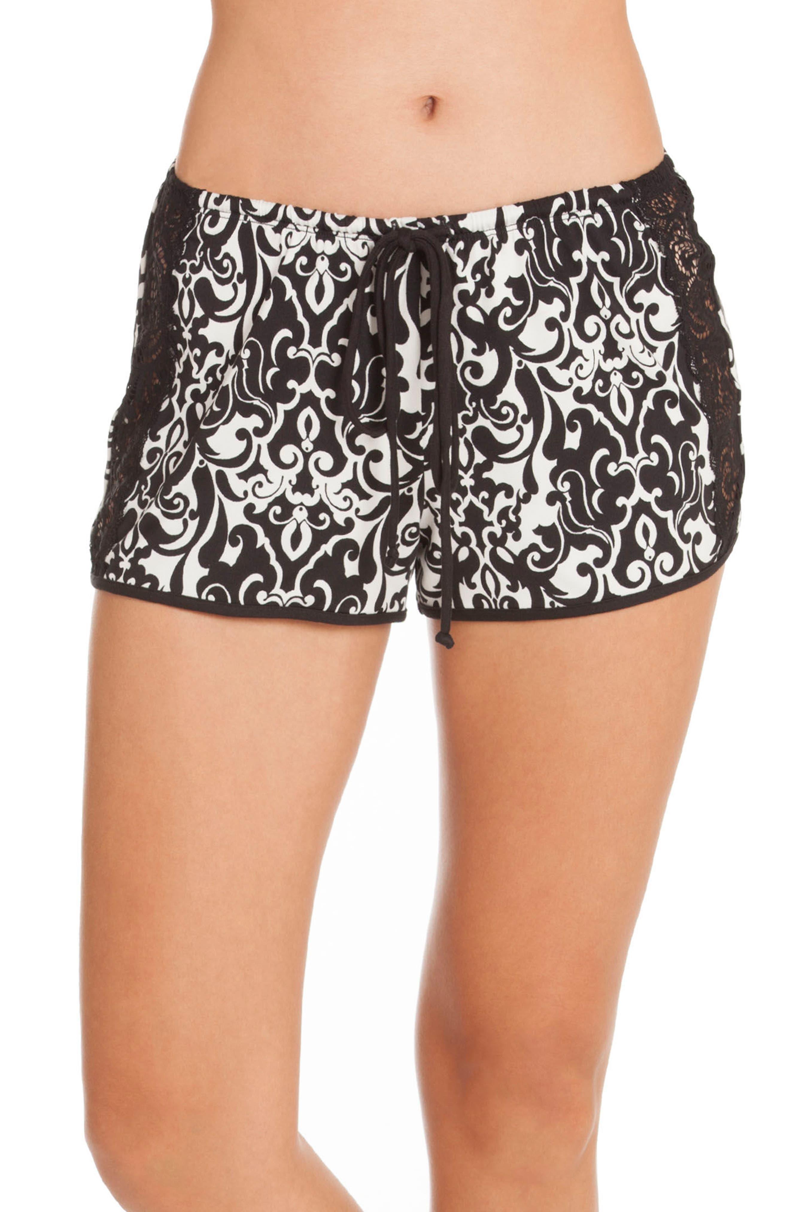 Konya Pajama Shorts,                             Alternate thumbnail 2, color,                             001