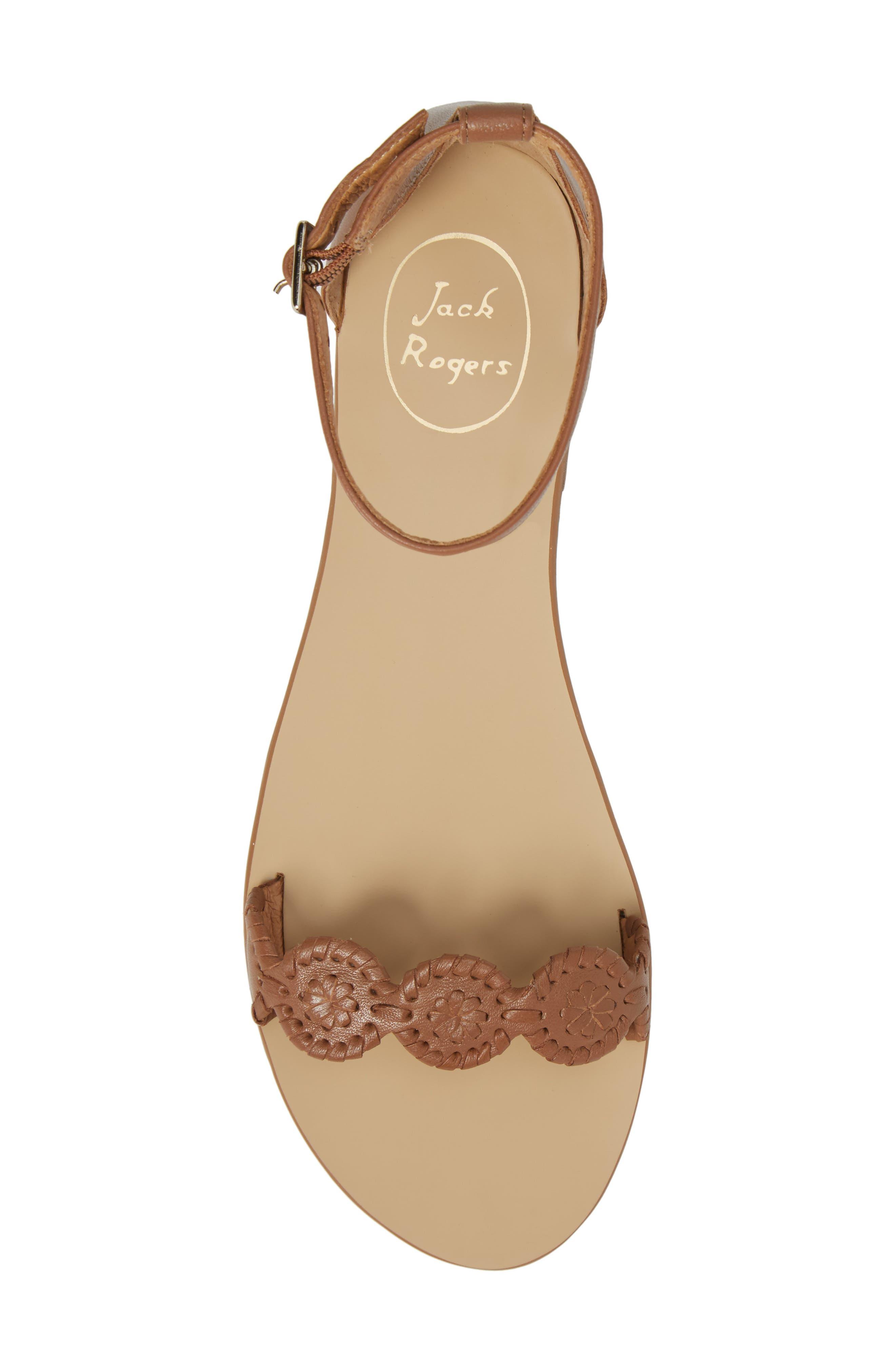 Daphne Medallion Flat Sandal,                             Alternate thumbnail 17, color,