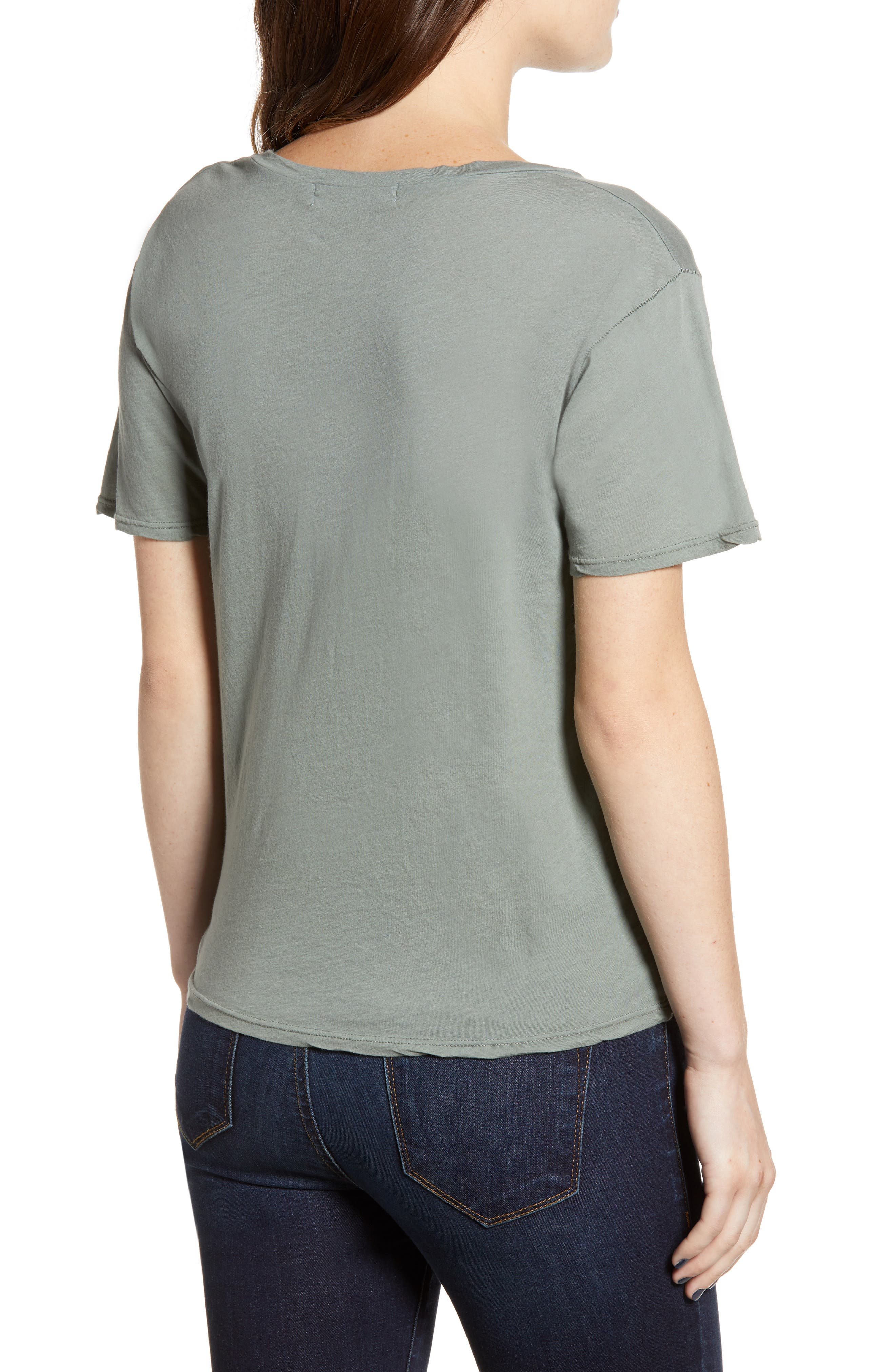 PROJECT SOCIAL T,                             The Softest V-Neck Tee,                             Alternate thumbnail 2, color,                             363