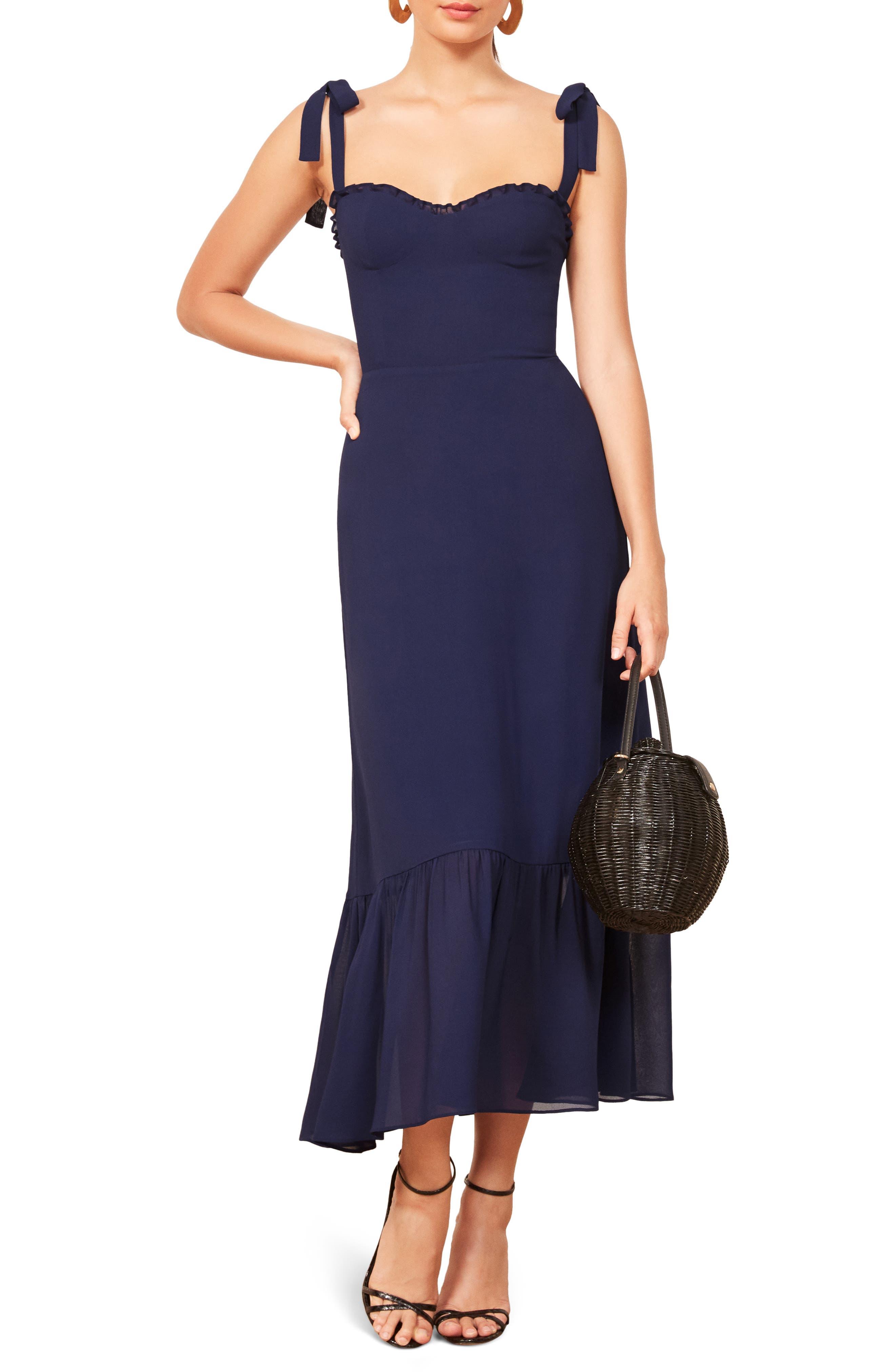 Nikita Floral Midi Dress, Main, color, 400