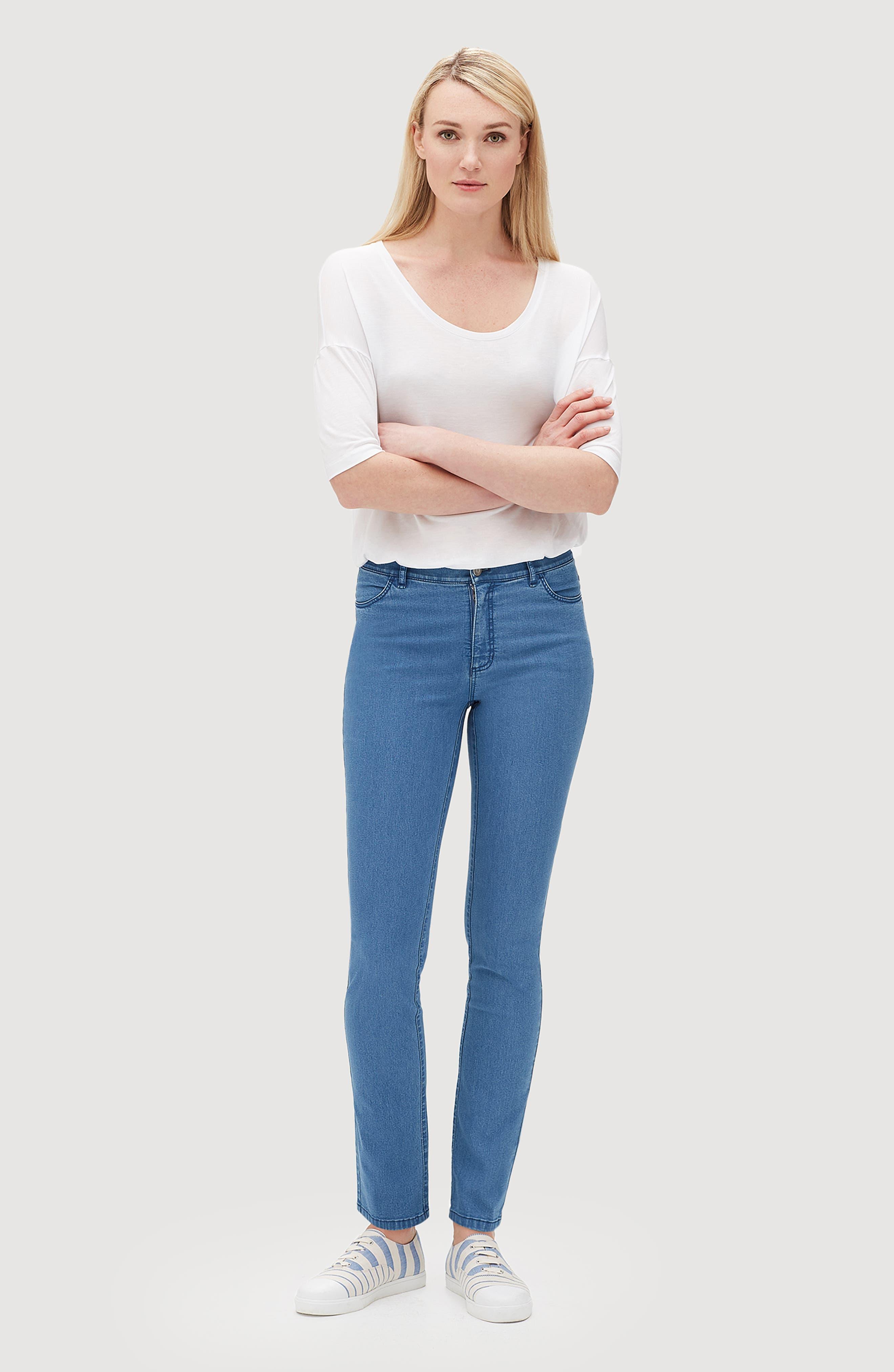 'Primo Denim' Curvy Fit Slim Leg Jeans,                             Alternate thumbnail 22, color,