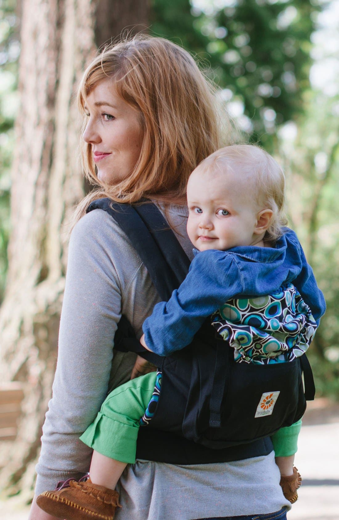 Organic Cotton Baby Carrier,                             Alternate thumbnail 5, color,